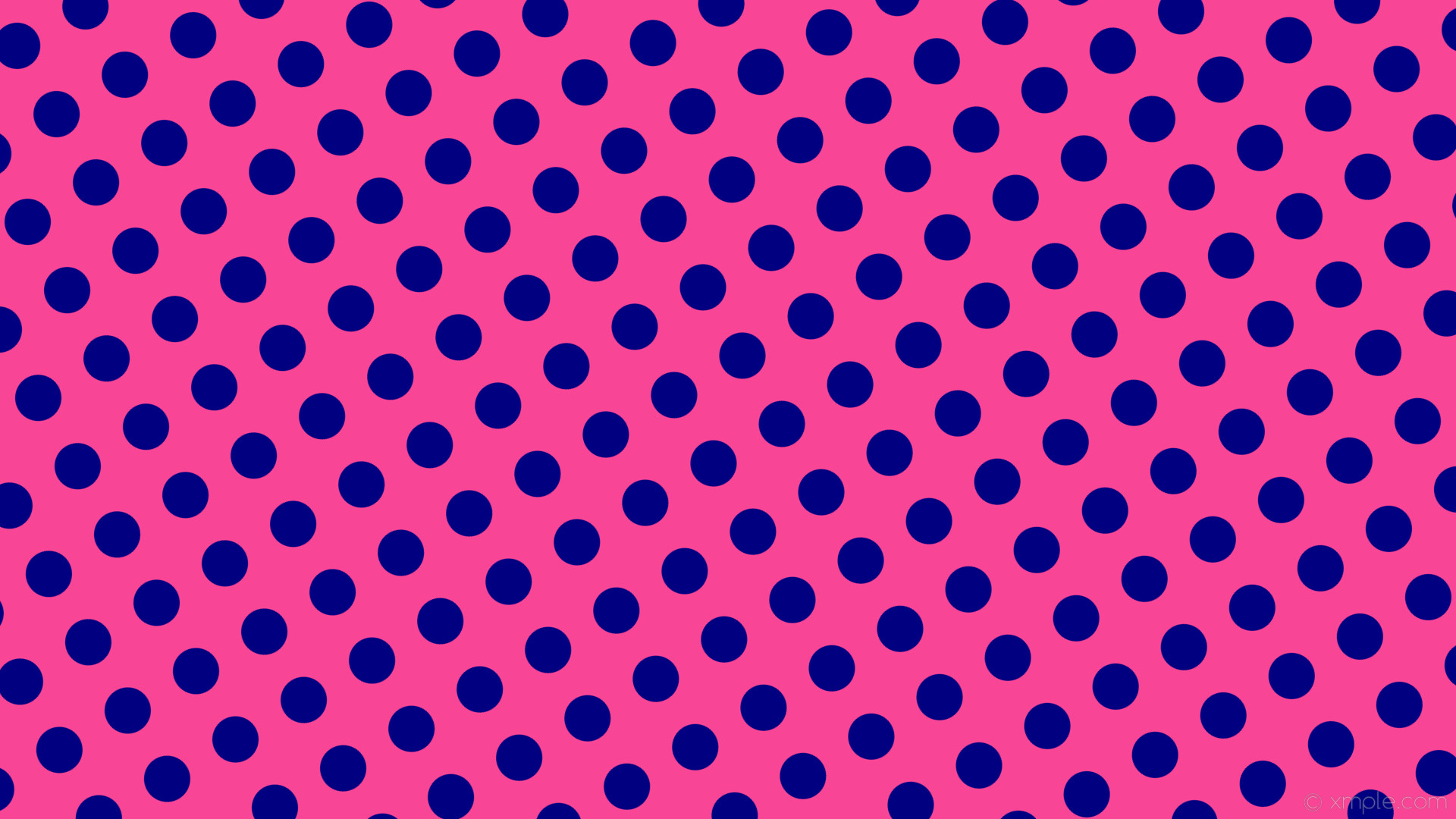 wallpaper polka dots spots blue pink navy #f84595 #000080 120° 61px 104px