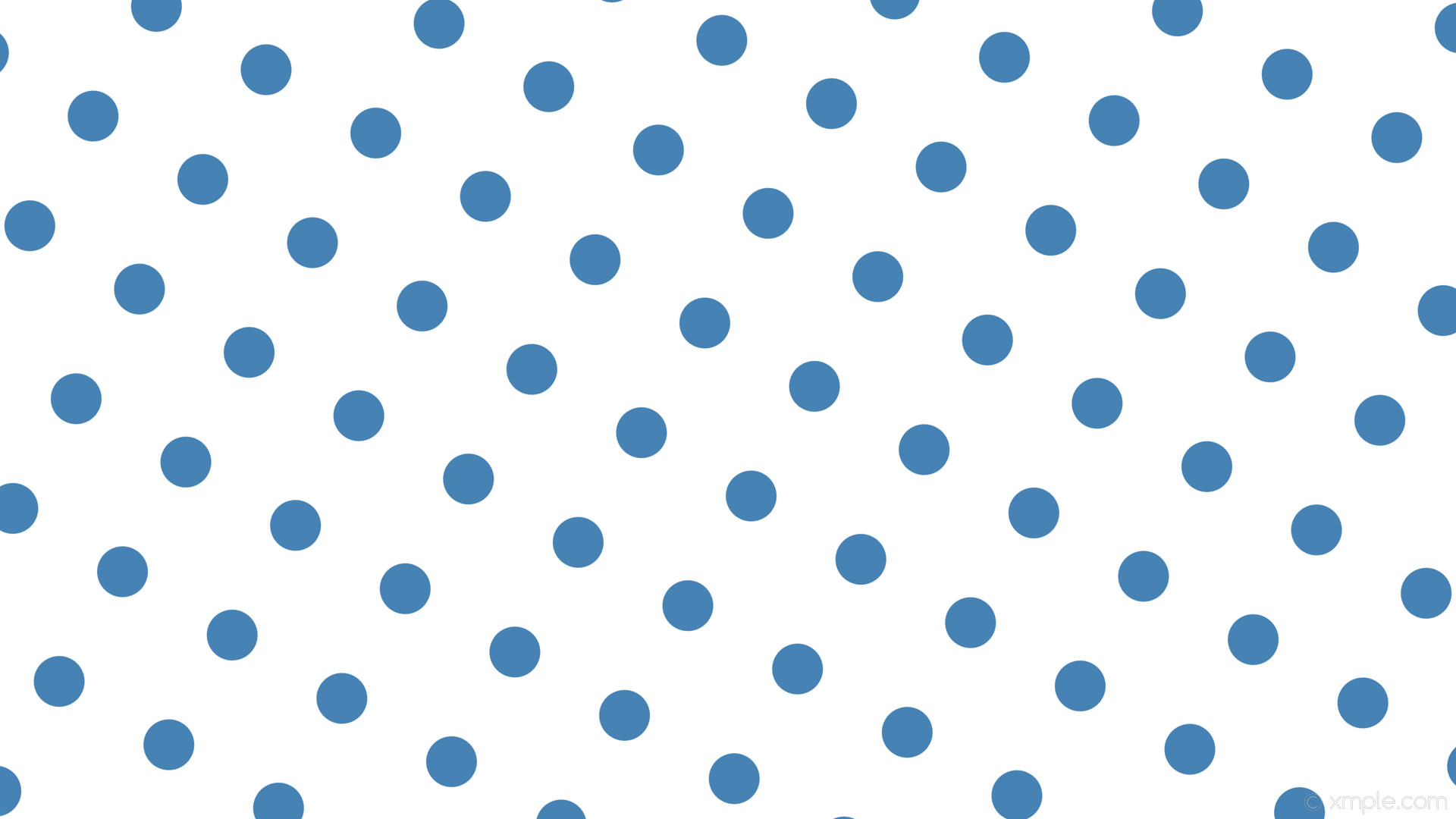 wallpaper white polka dots spots blue steel blue #ffffff #4682b4 240° 67px  167px