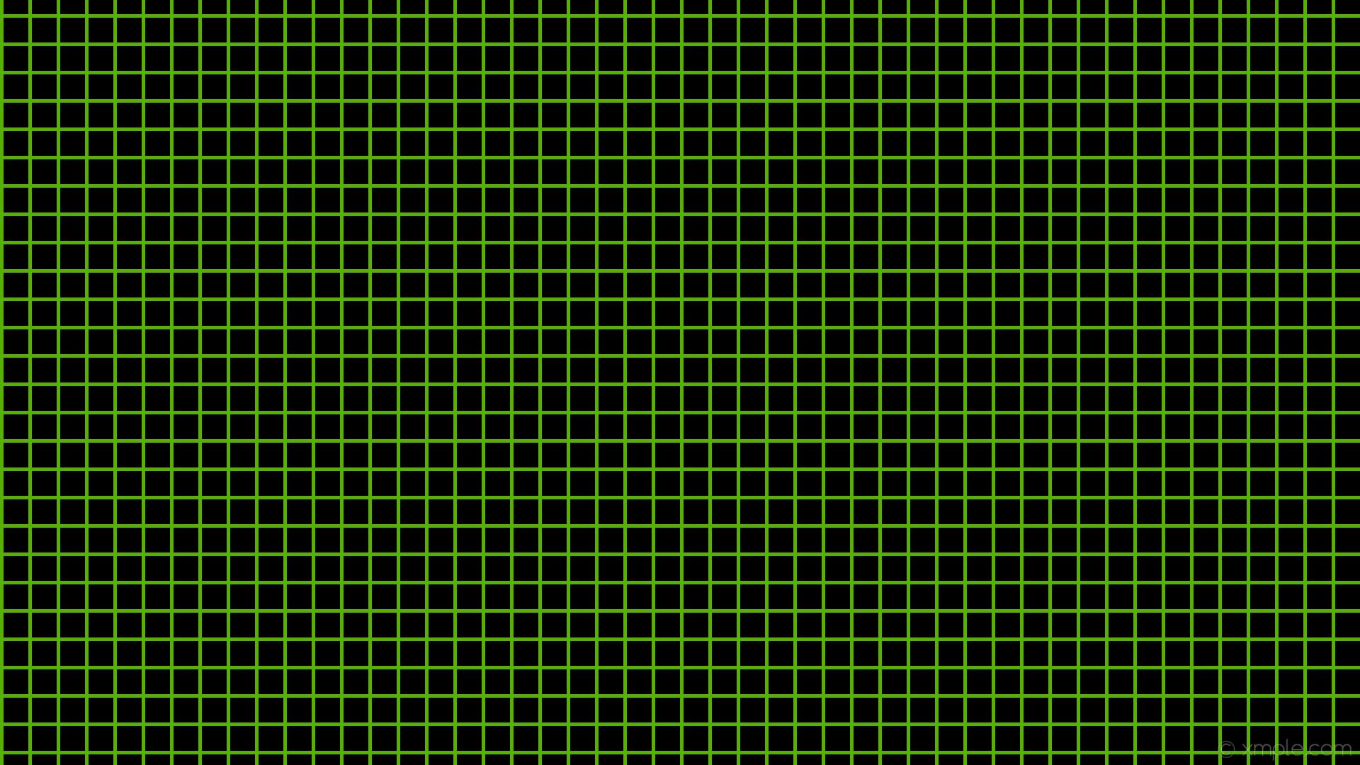 wallpaper graph paper green black grid lawn green #000000 #7cfc00 0° 5px  40px