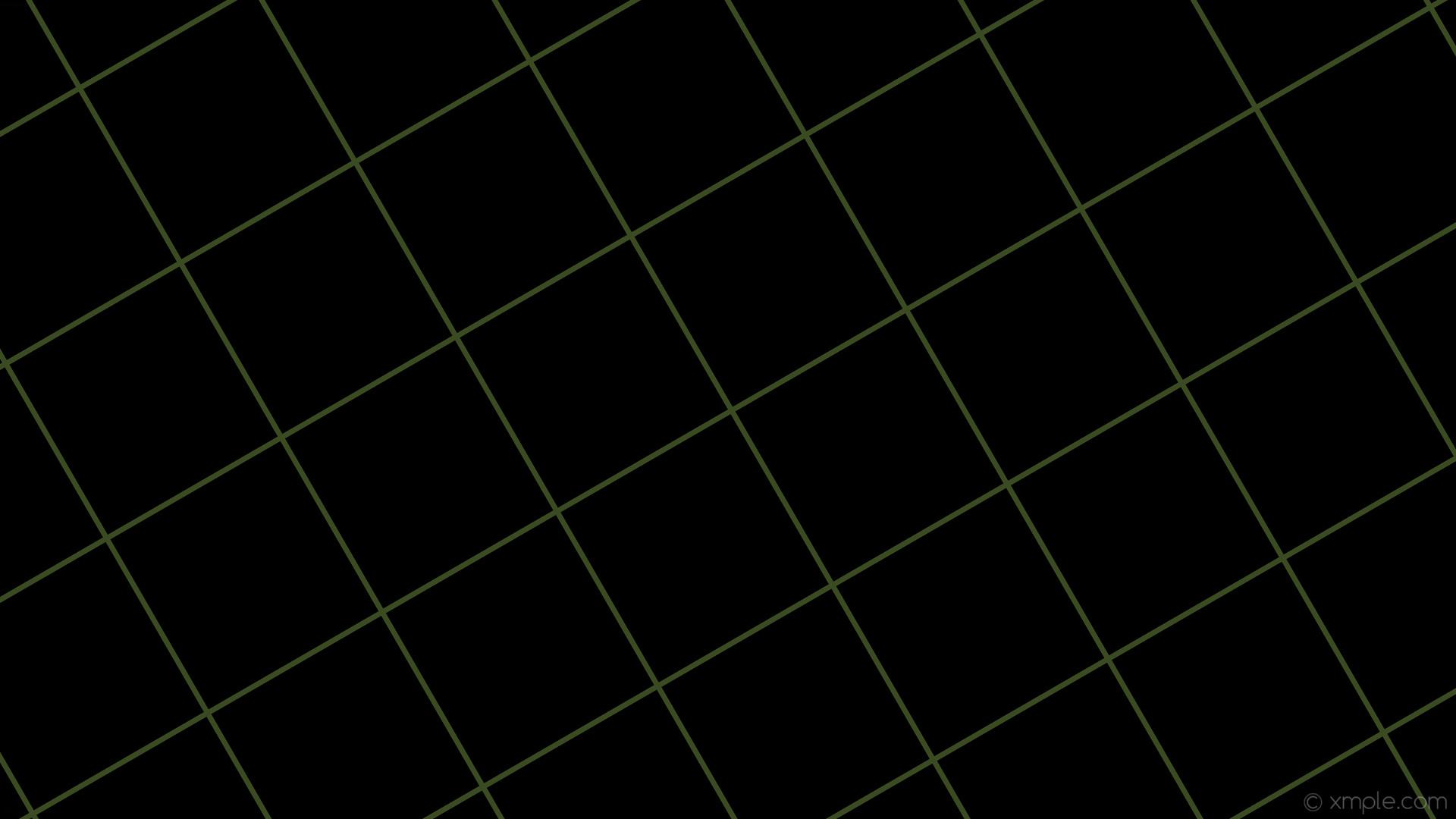 wallpaper graph paper green black grid dark olive green #000000 #556b2f 30°  7px