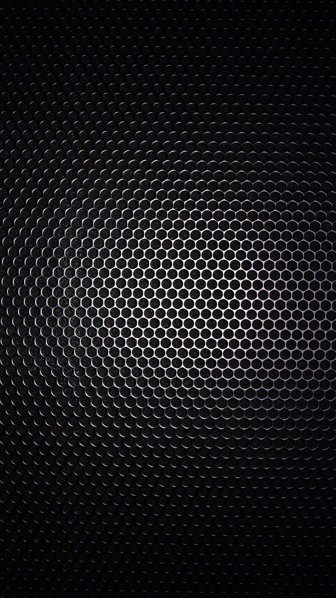 Galaxy S4 Wallpaper with Black metal grid design in resolution