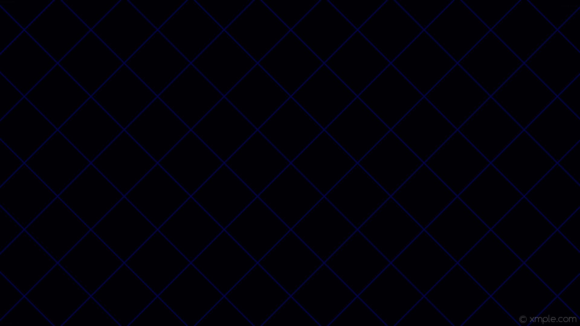 wallpaper graph paper blue black grid #000005 #040363 45° 4px 156px