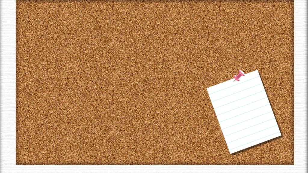 … corkboard desktop wallpaper wallpapersafari …