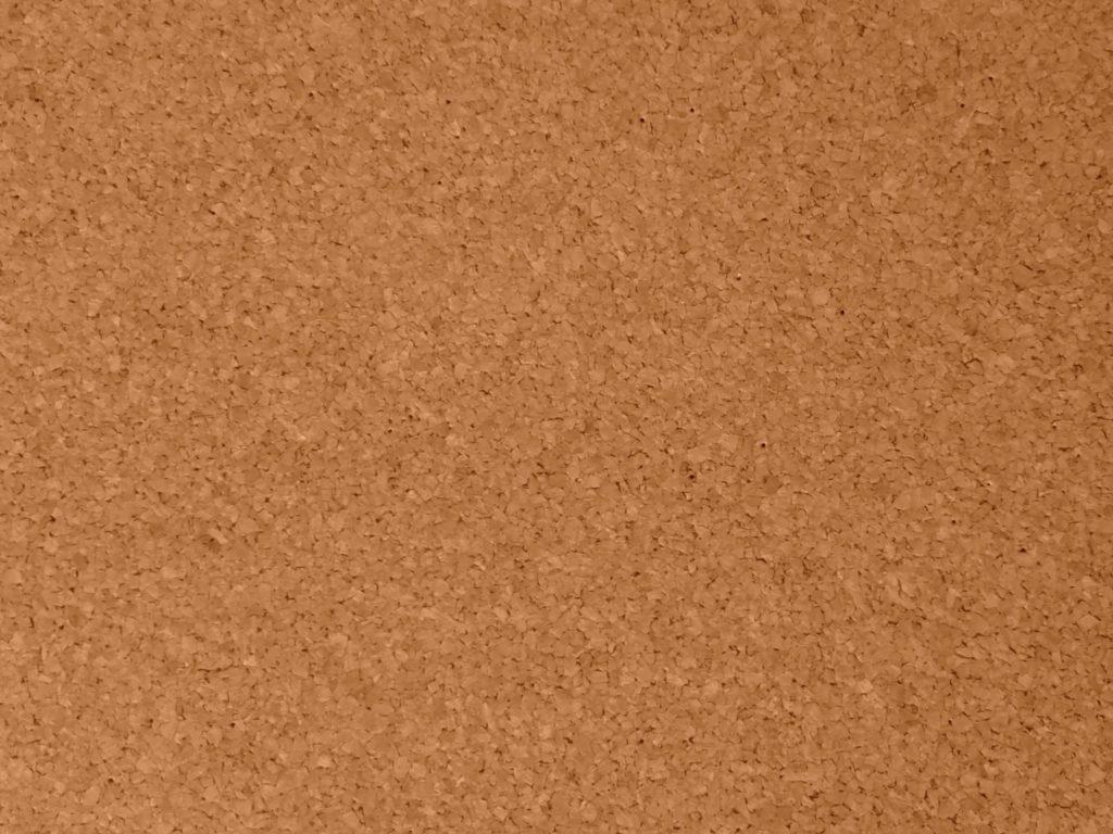 brown cork panel