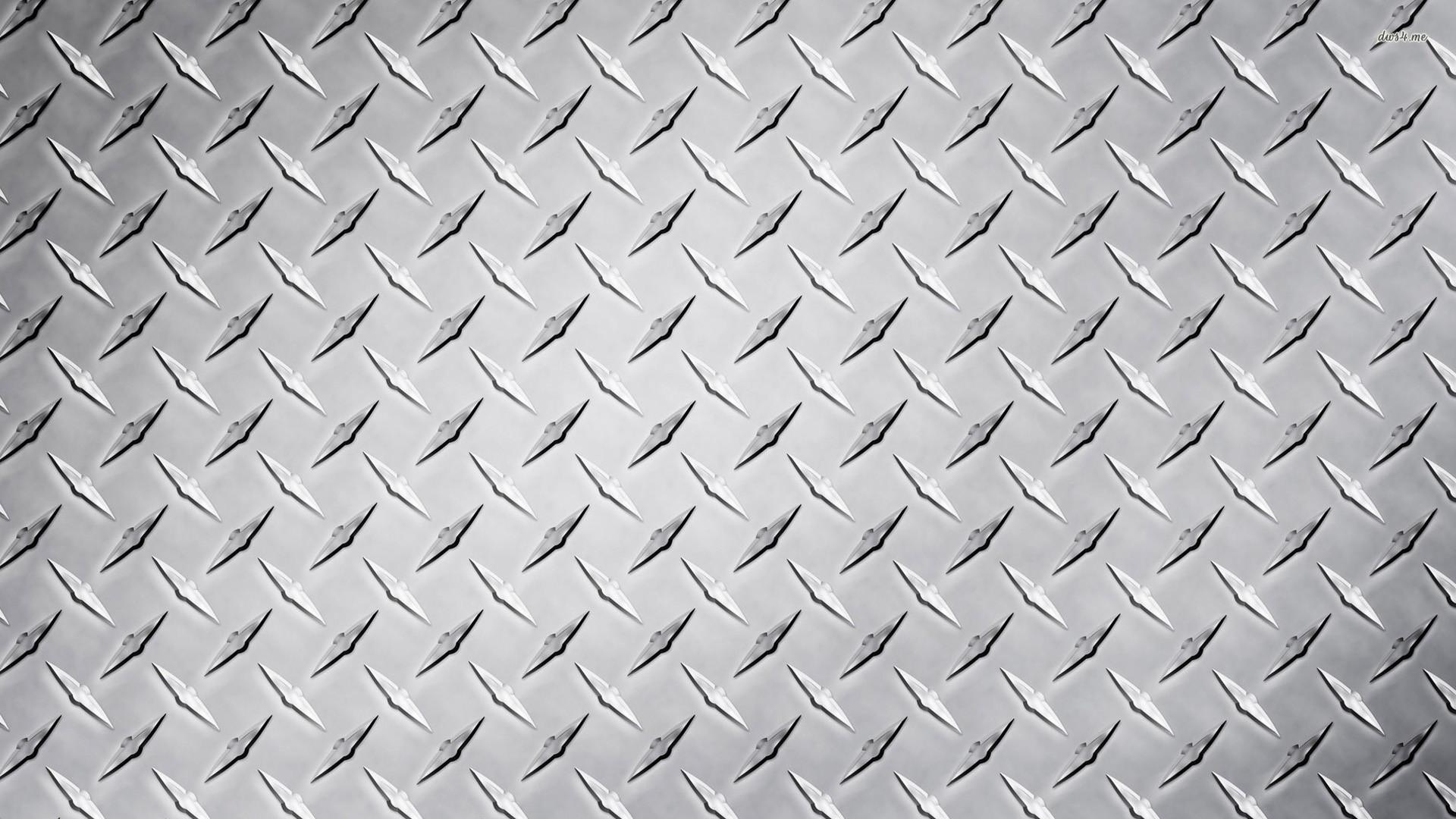 Silver Diamond Plate wallpaper https://deskbg.com/view/30525/