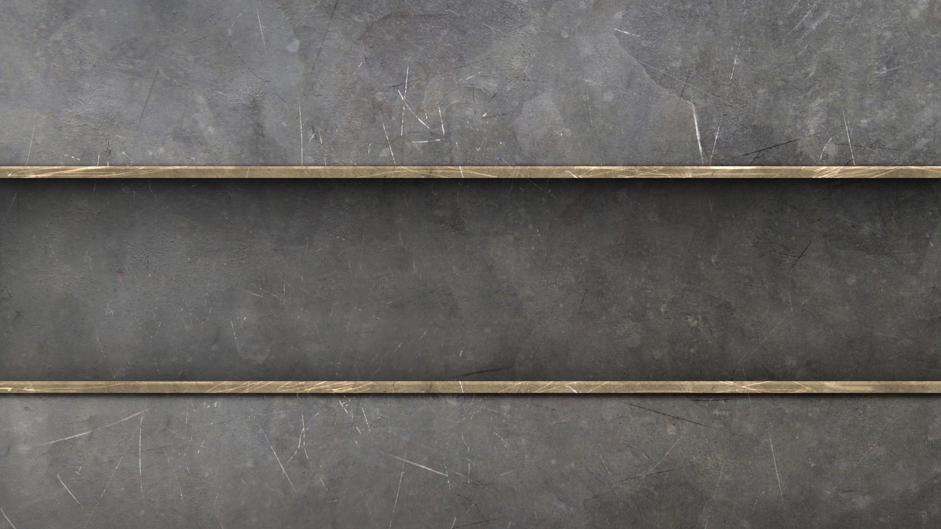 Wallpaper stripes, lines, shelf, metal, silver