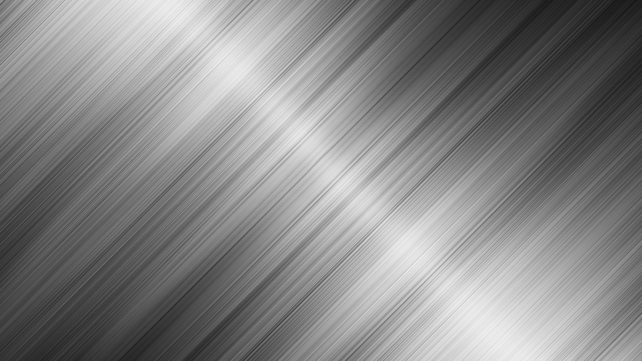 Preview wallpaper metal, lines, stripes, light, shiny, silver 2048×1152
