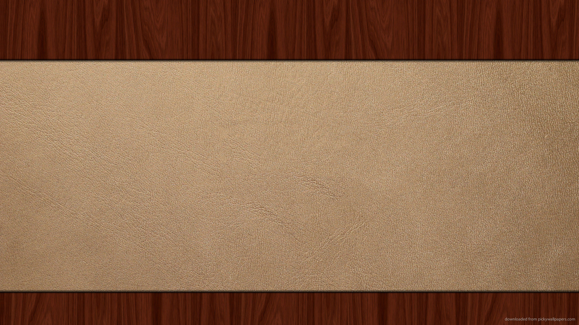 Light Leather On Wood for 1920×1080