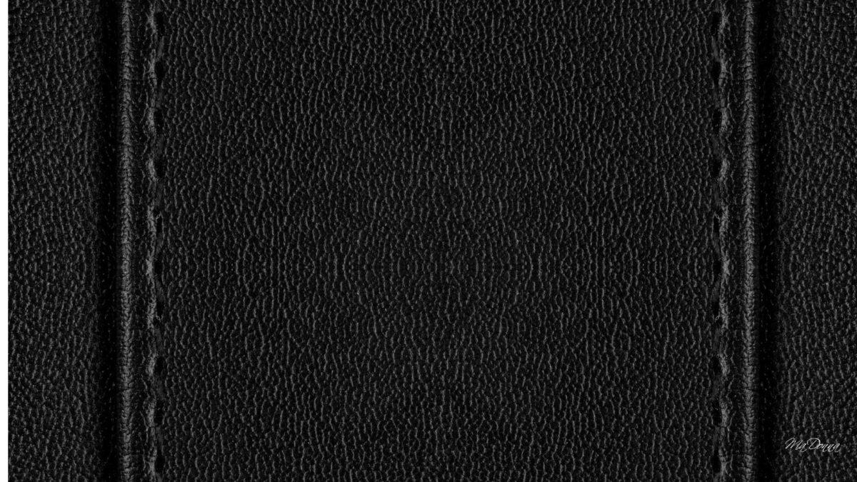 Ravishing Black Leather Wallpaper