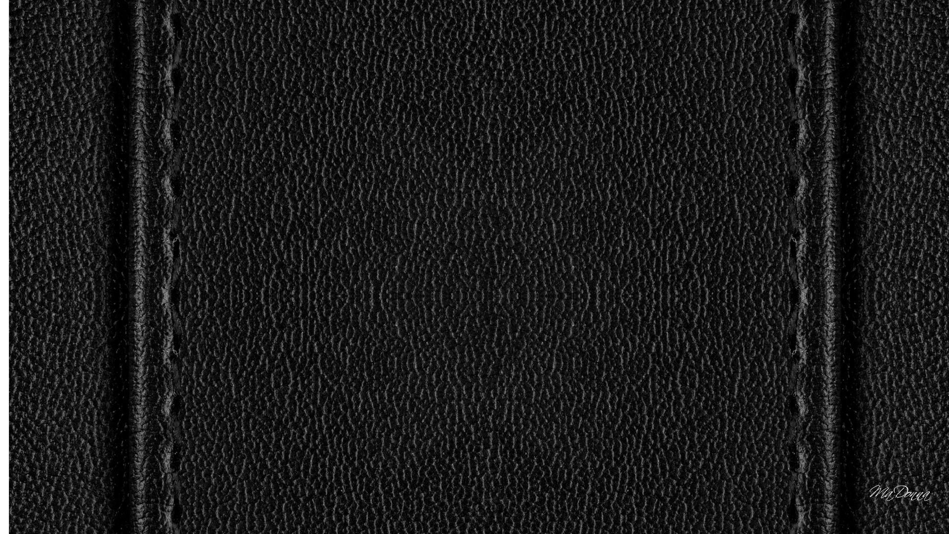 Ravishing Black Leather Wallpaper