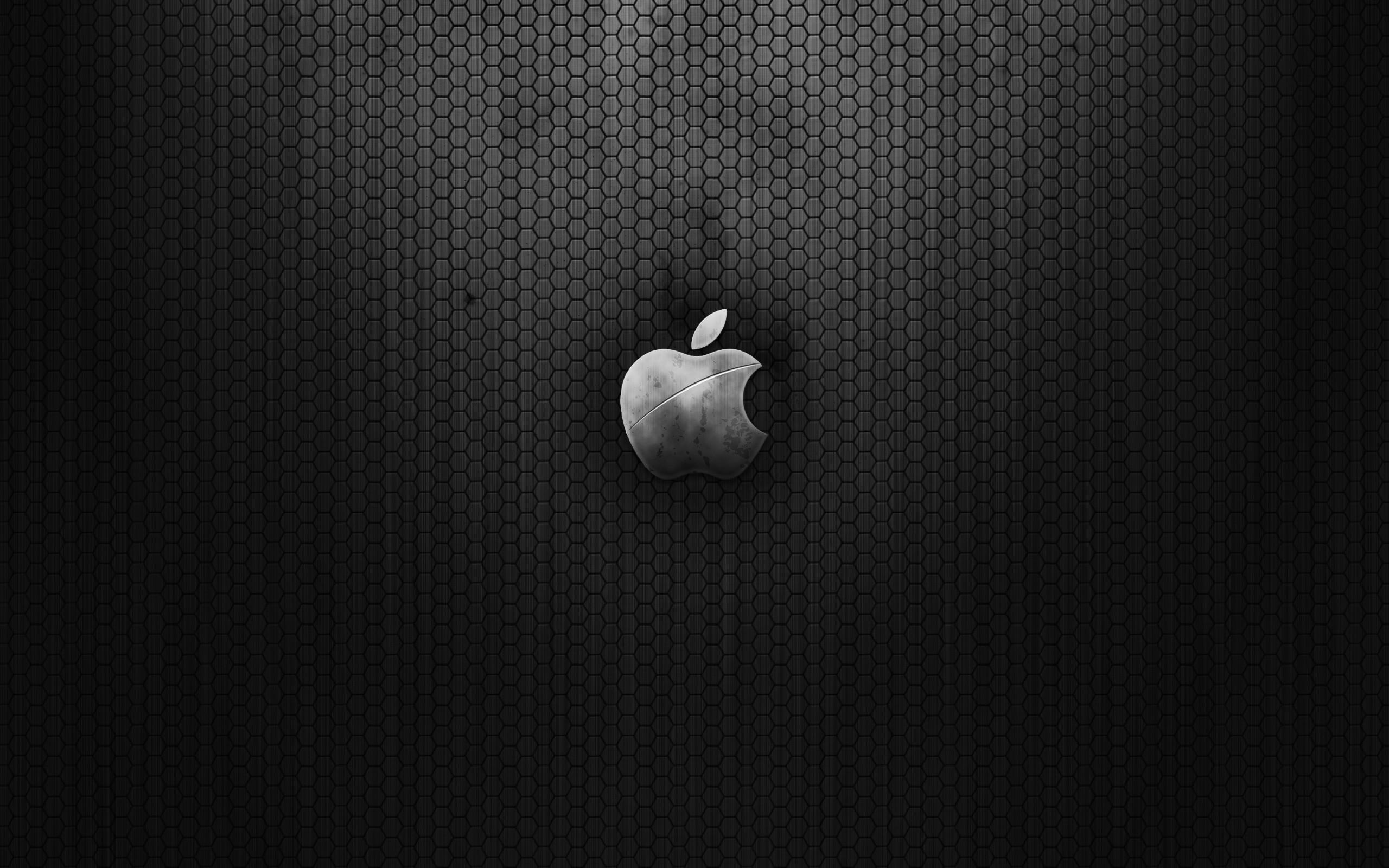 Wallpapers Carbon Hd Apple Metal Fiber 2560×1600