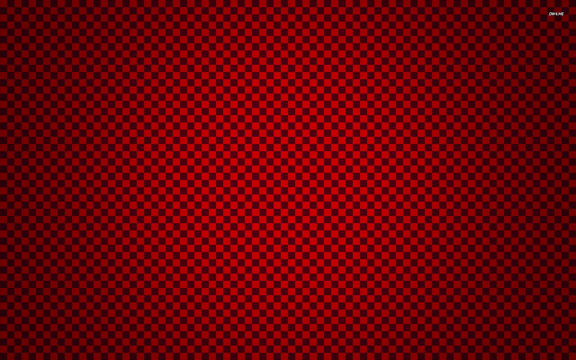 Red checkered pattern wallpaper – Digital Art wallpapers – #1283