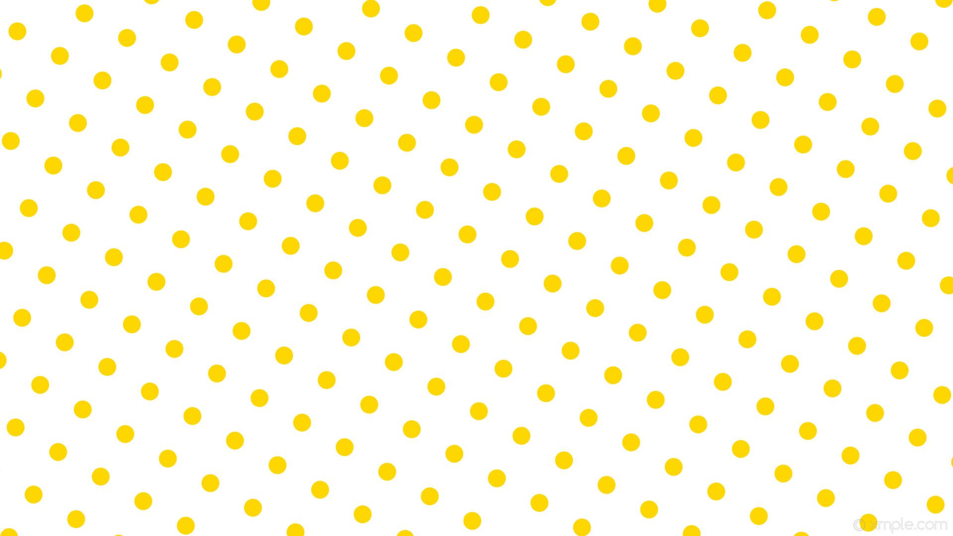 wallpaper yellow polka white spots dots gold #ffffff #ffd700 240° 36px 99px