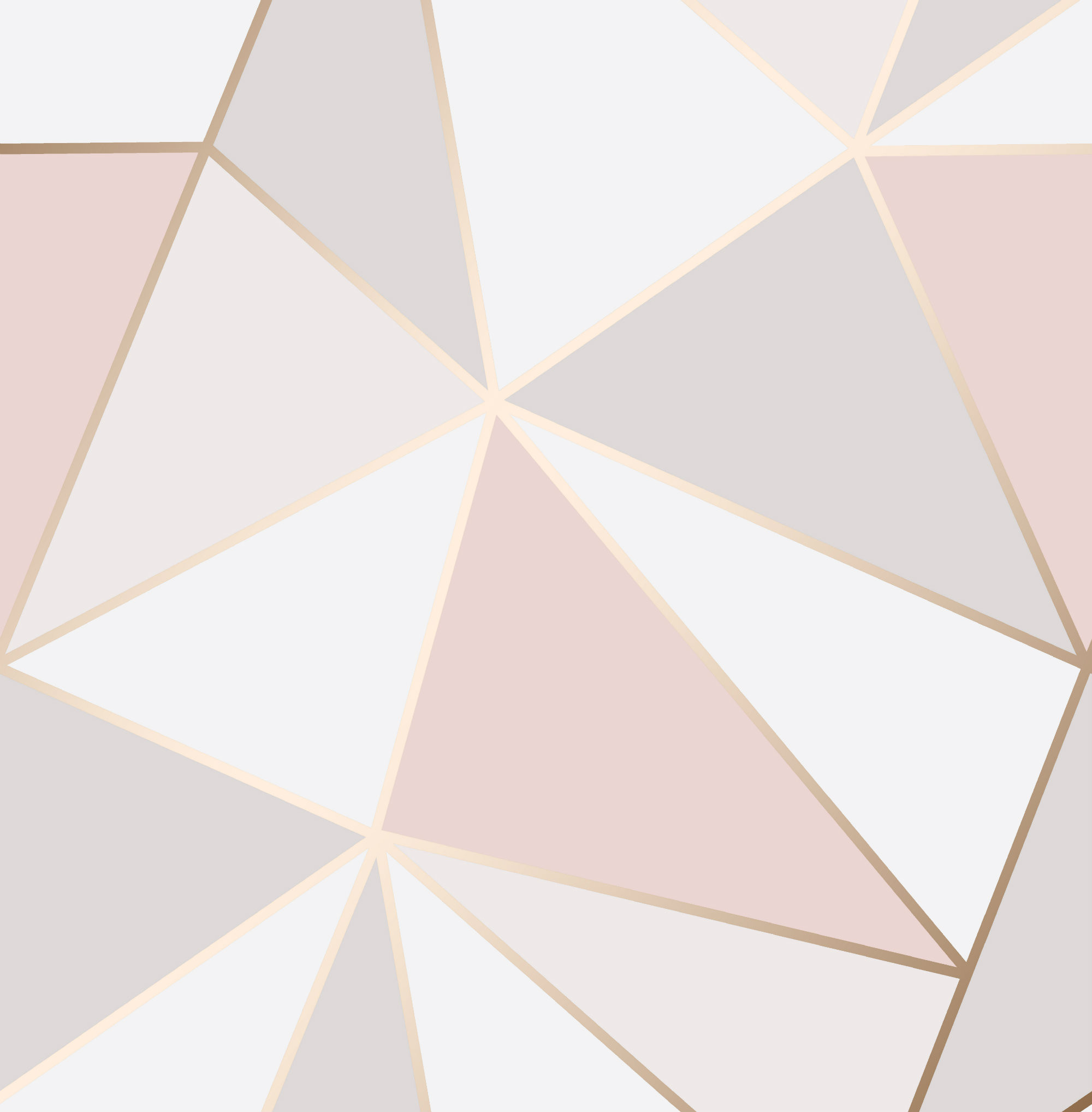 Apex Geometric Rose Gold