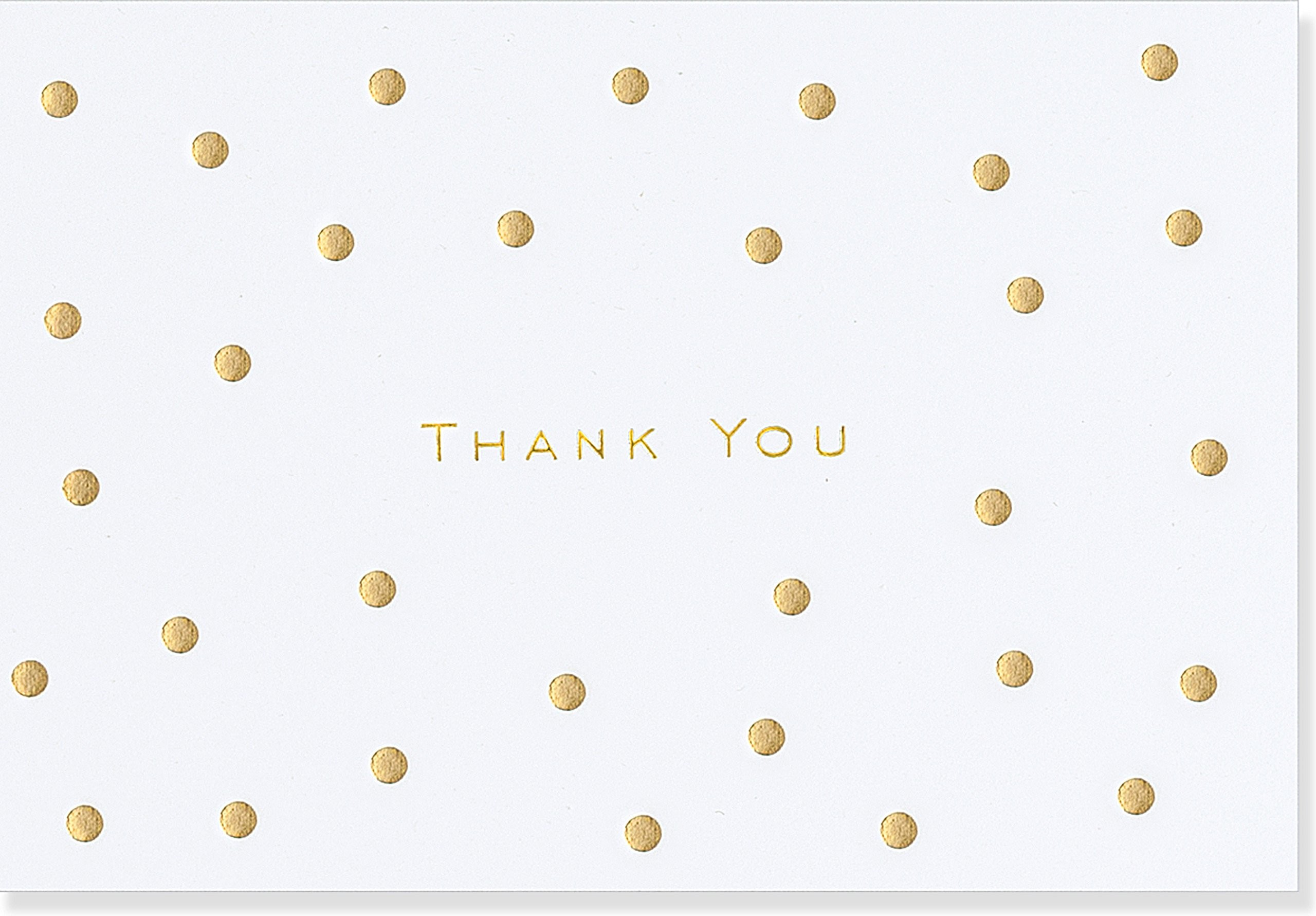 Gold Dots Thank You Notes (Stationery, Note Cards, Boxed Cards): Peter  Pauper Press: 9781441319005: Amazon.com: Books