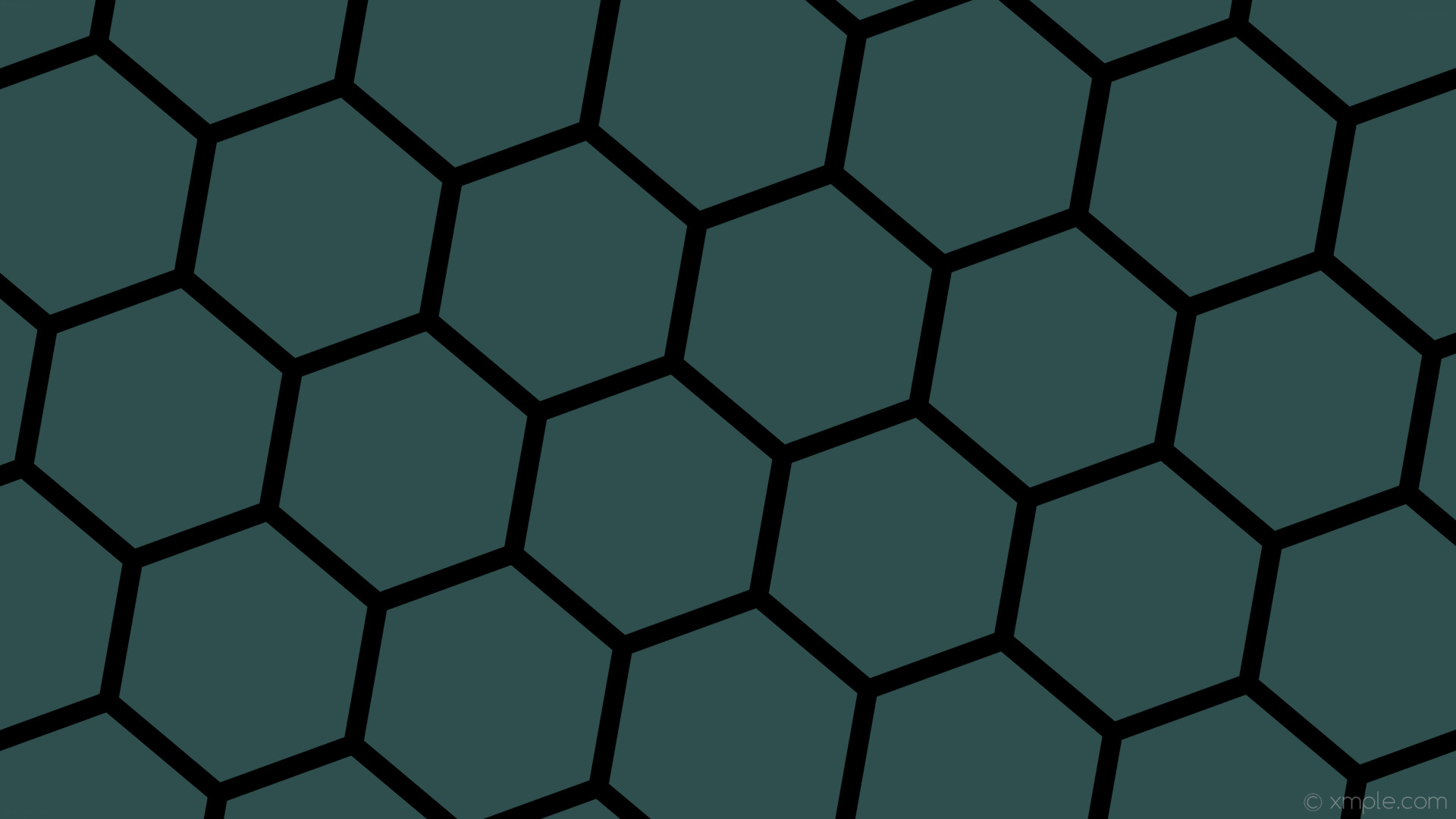 wallpaper beehive grey honeycomb black hexagon dark slate gray #2f4f4f  #000000 diagonal 50°