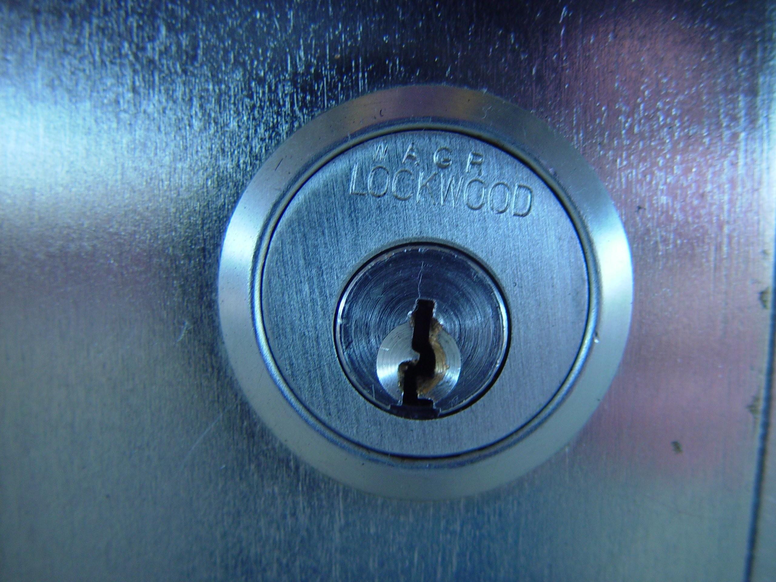 stainless steel lockwood lock