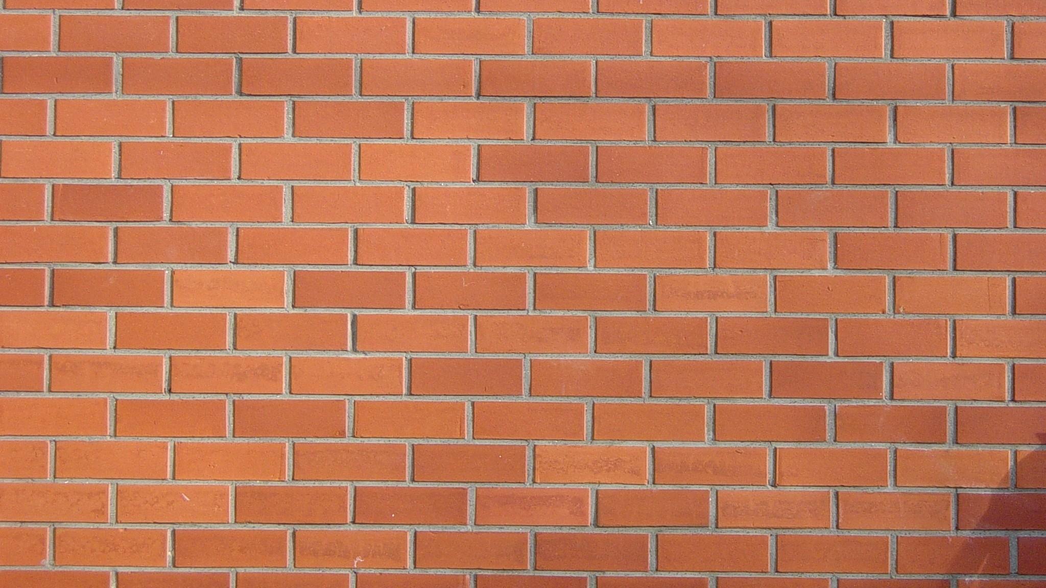 Wallpaper texture, brick, wall, light