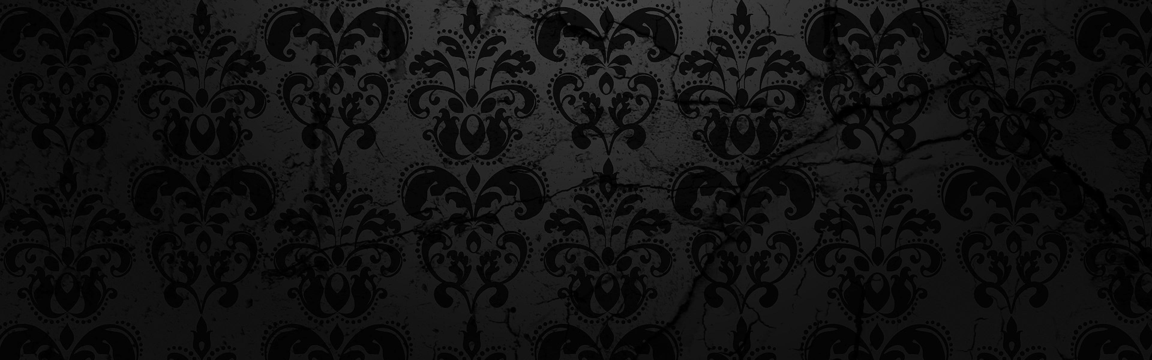 Wallpaper texture, pattern, black, background