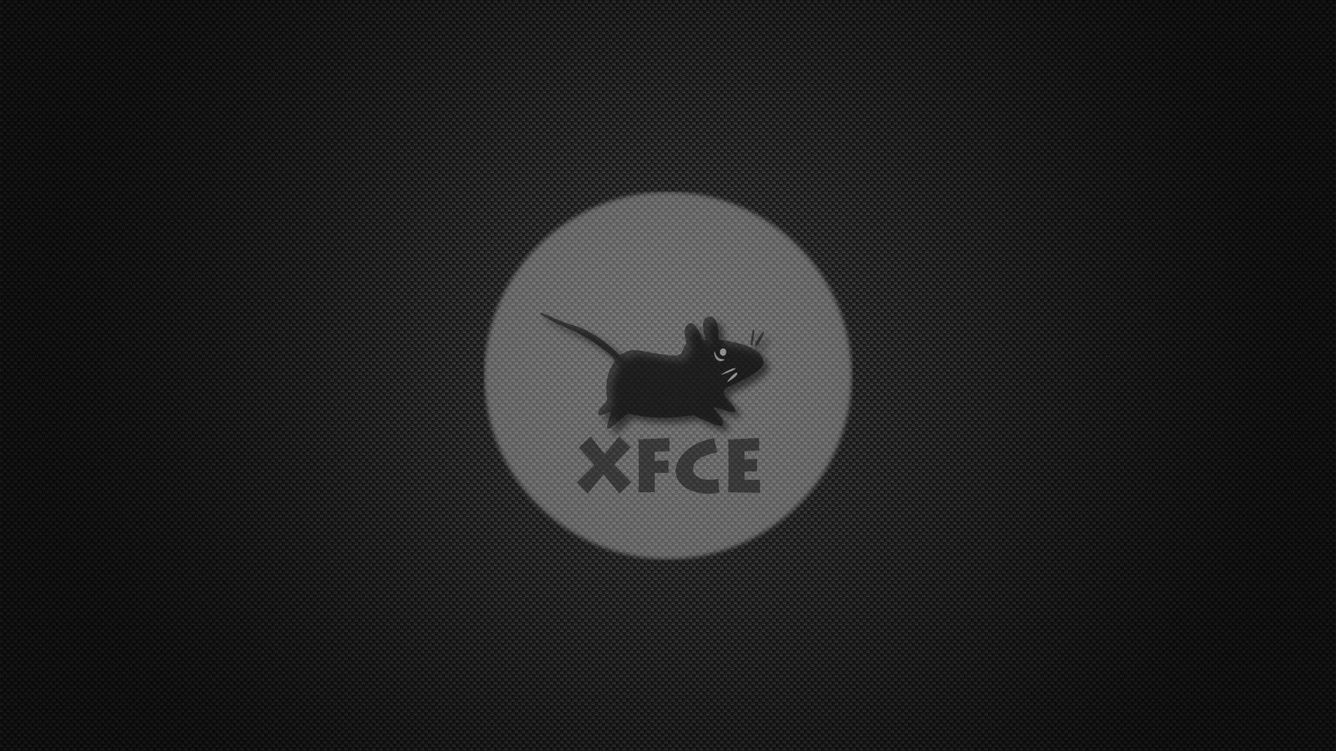 logos mice fibers xfce logo carbon fiber mouse desktop hd wallpaper