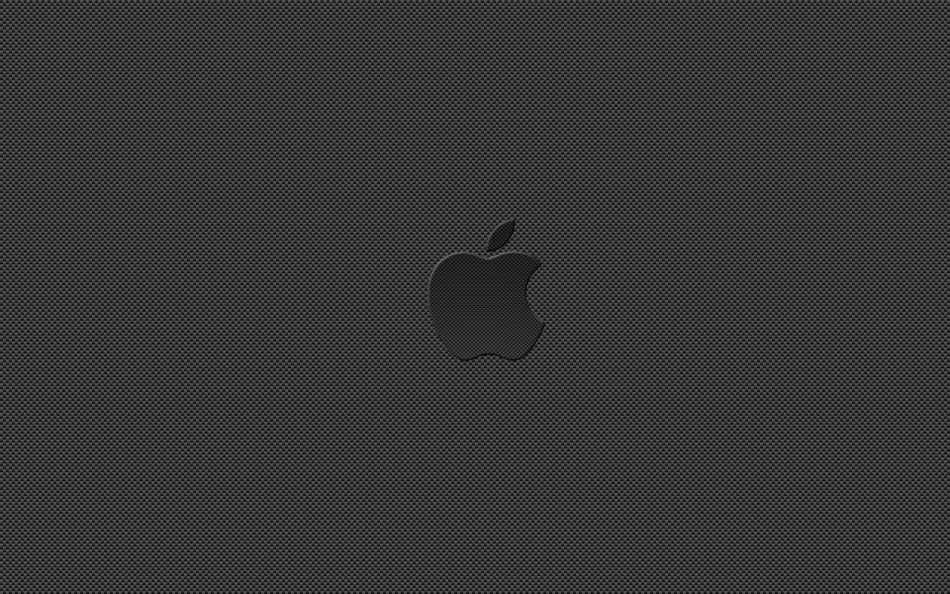 Carbon Fiber Apple by spclffred Carbon Fiber Apple by spclffred