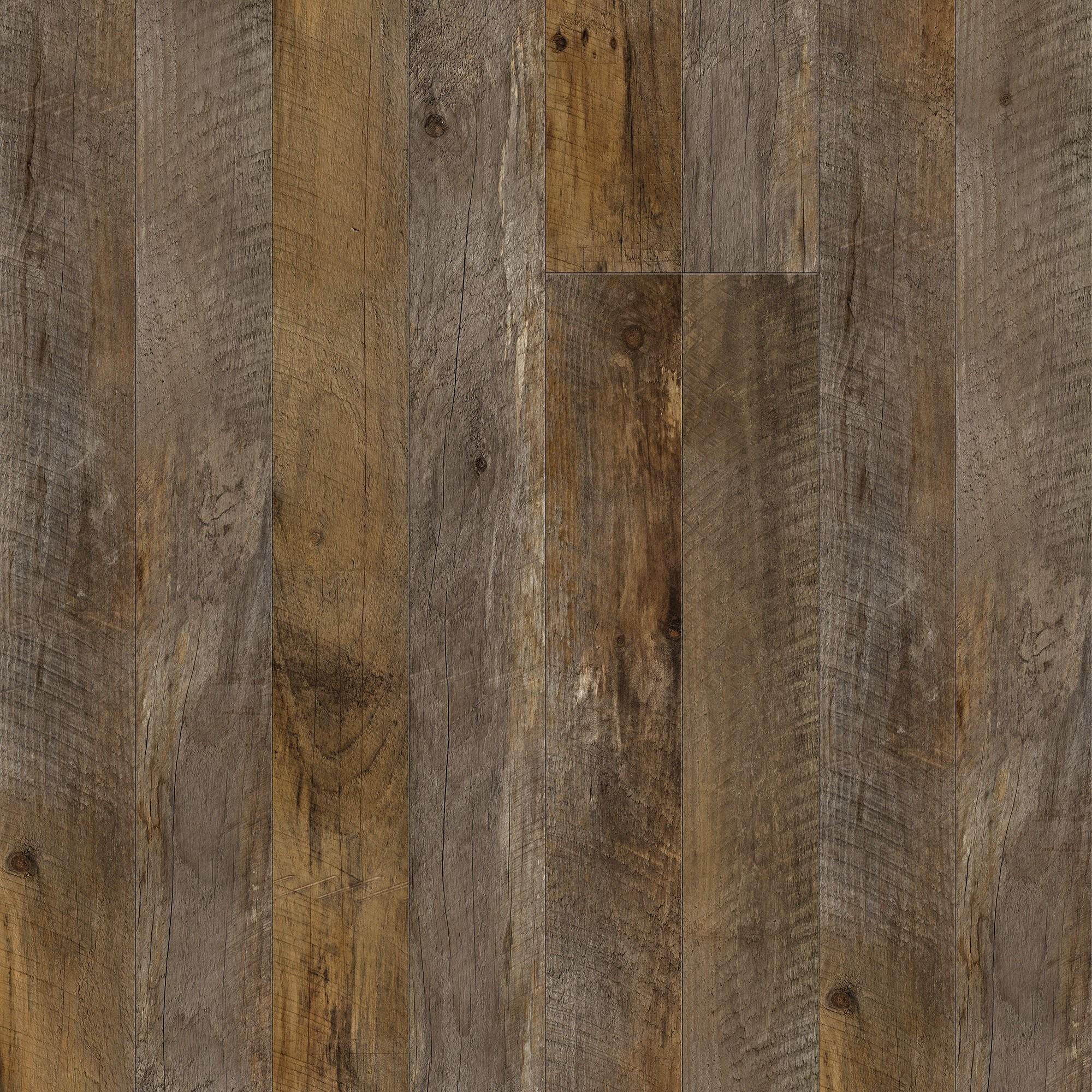 Barn Wood Brown Wallpaper