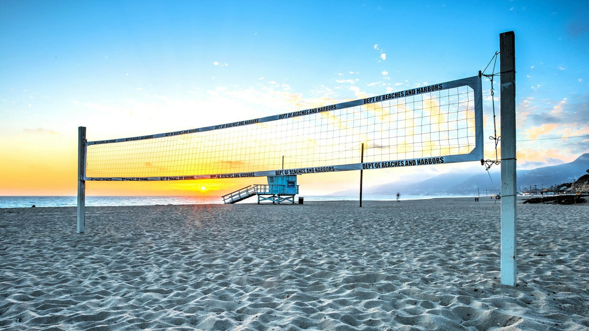 Volleyball on beach (1080p) – Wallpaper – HD Wallpapers