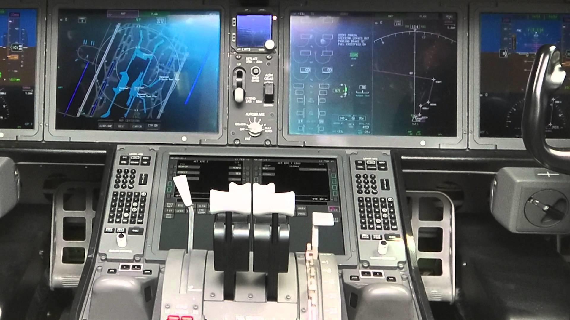 787 Dreamliner Vs A380 Cockpit Parisons Aeroe Technology
