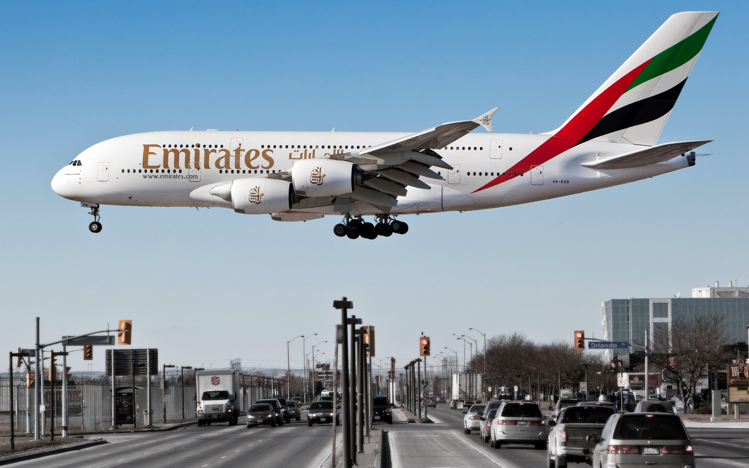 Airbus A380-800 Aircraft Airliners Emirates Airlines …
