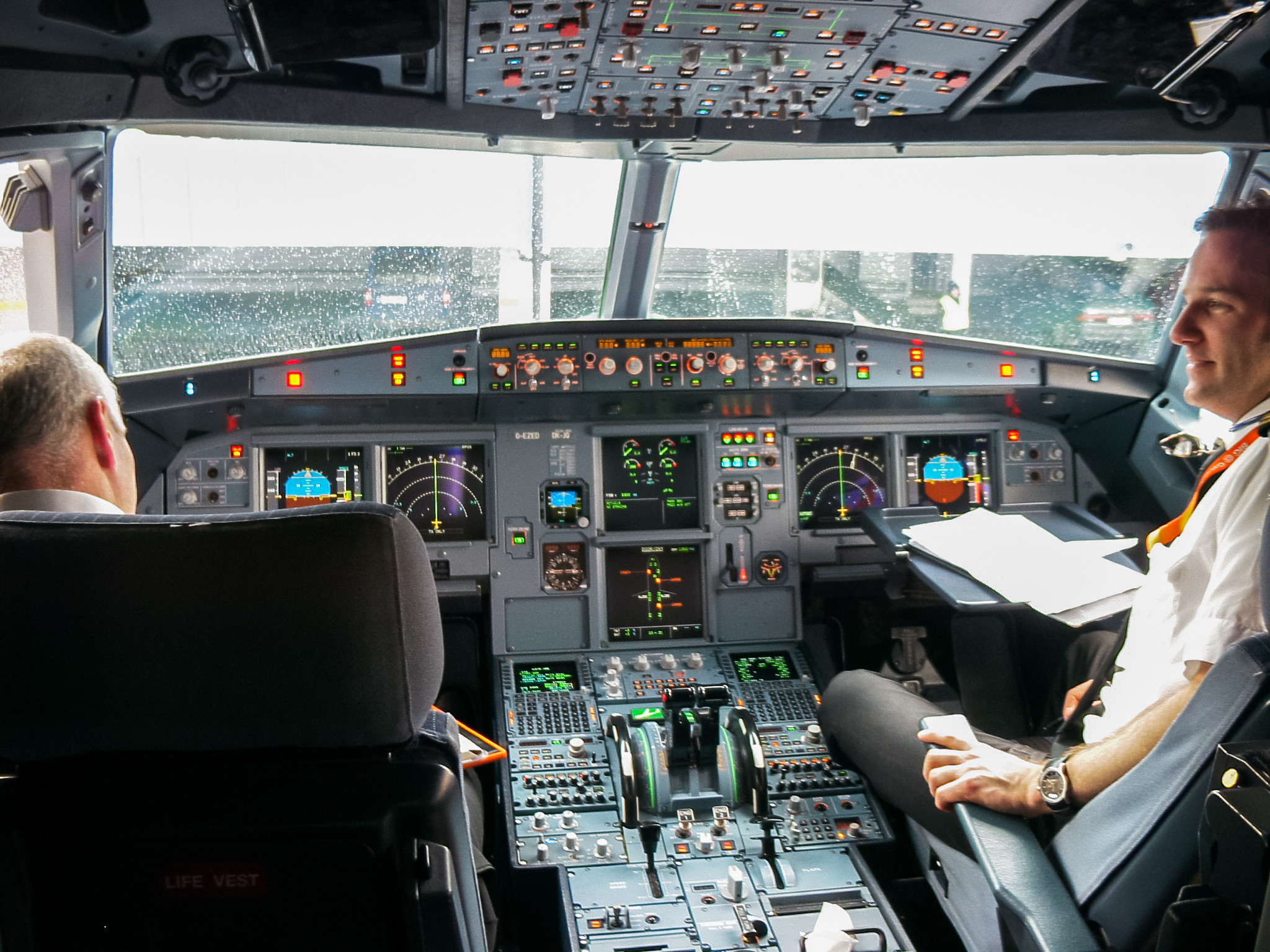 Airbus Cockpit Stock Images Royalty Vectors
