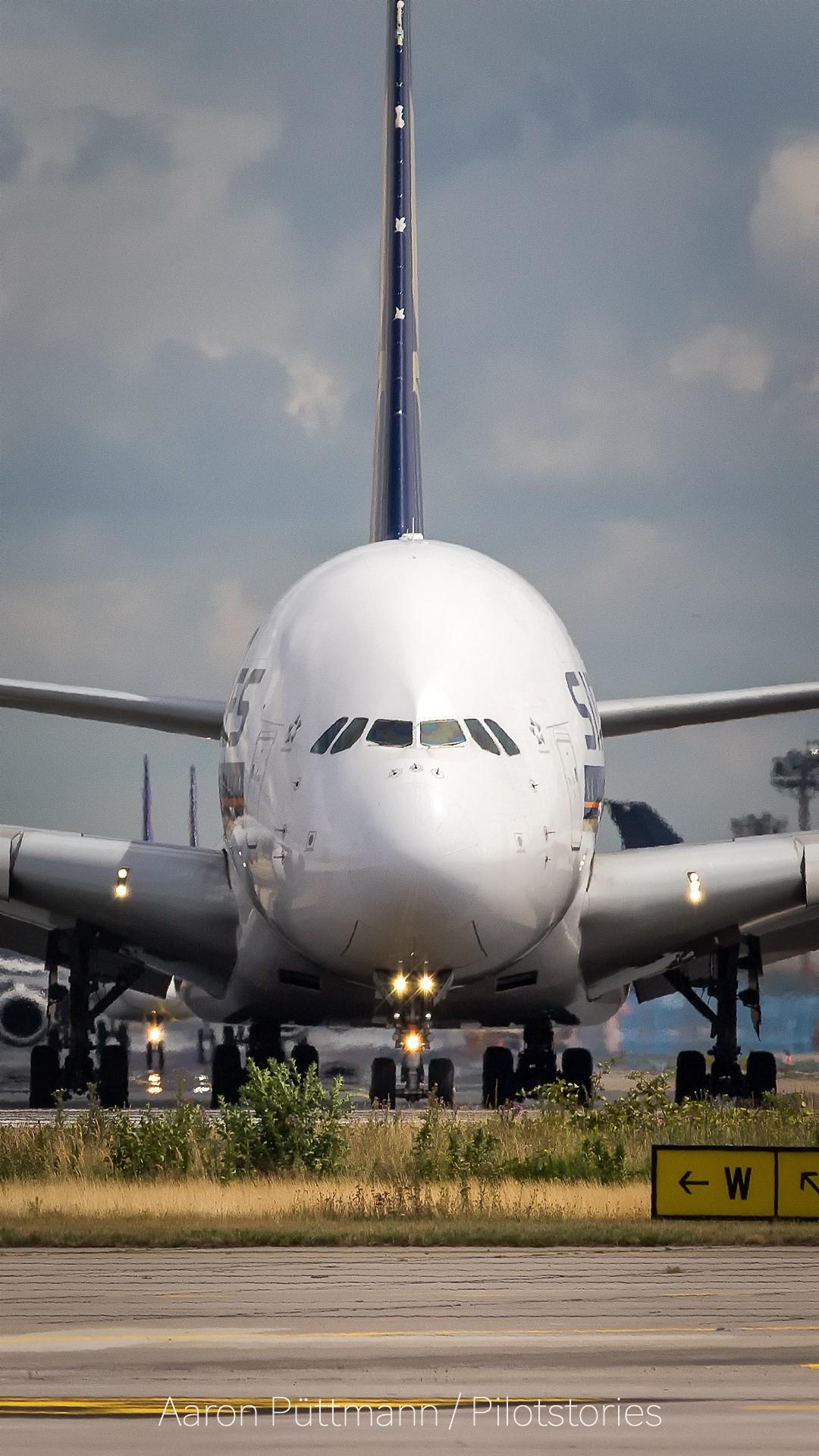 Full HD Singapore Airbus A380-800 Wallpaper Smartphone