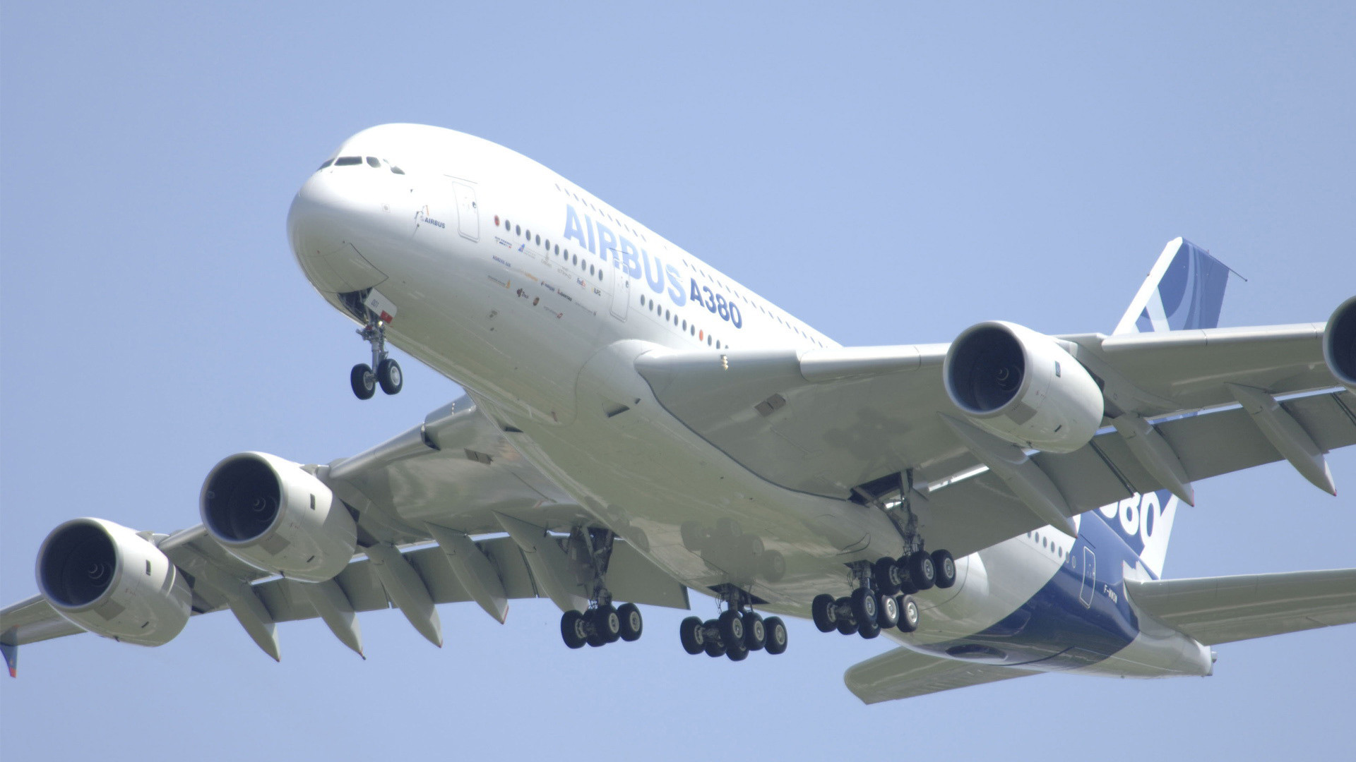 Finally the much talked about Airbus A380 touched down on Indian soil at at  the new