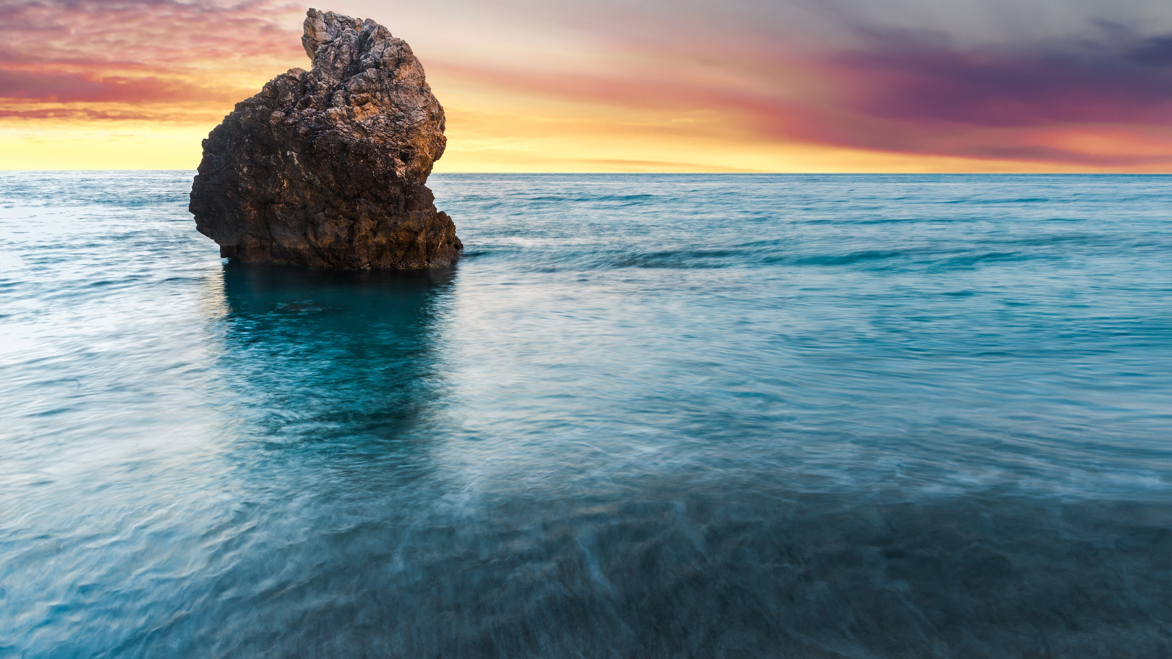 Beach Rock Lefkada Greece 4K Ultra HD Desktop Wallpaper Uploaded by  DesktopWalls