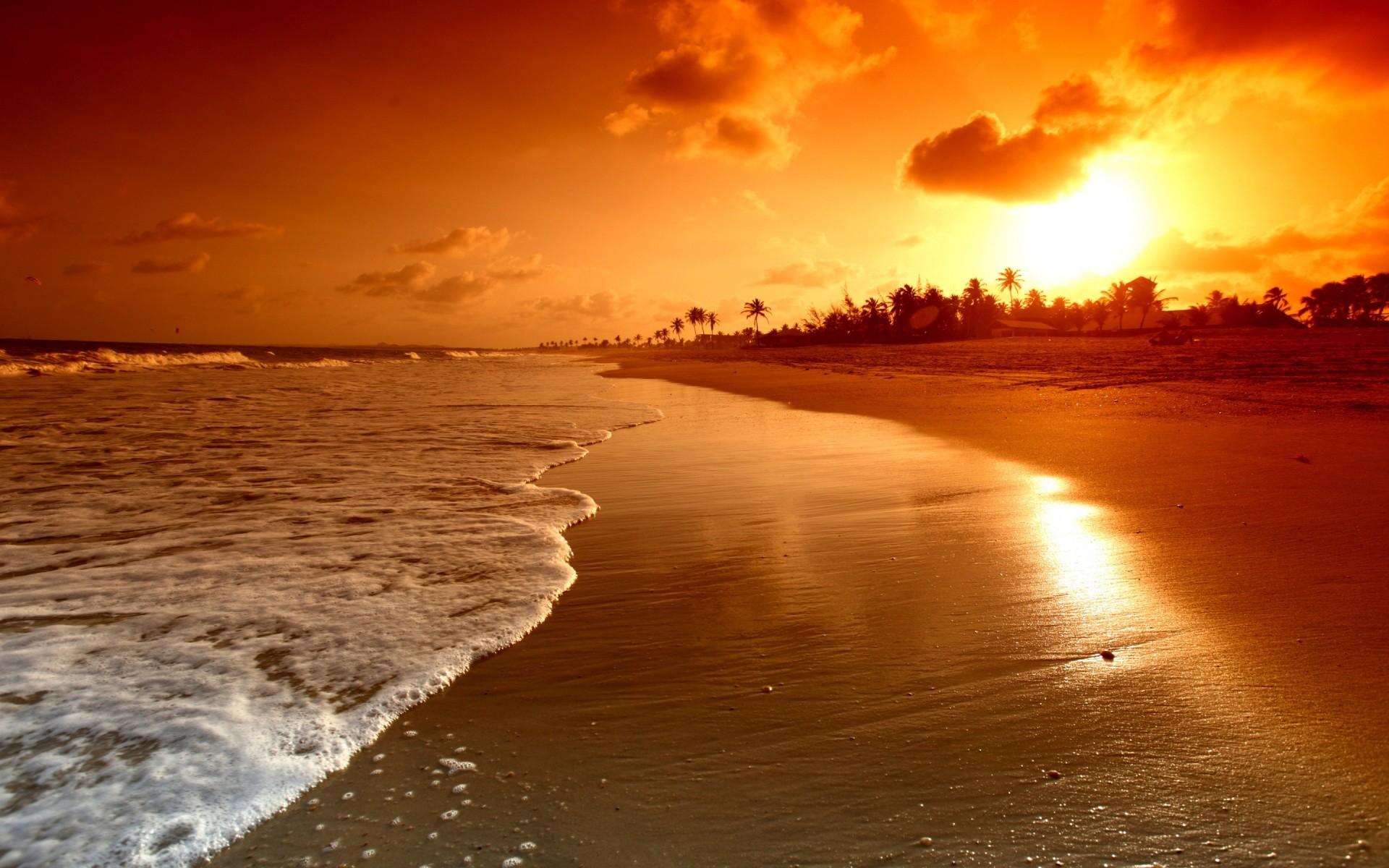 Sunset Beach HD Wallpapers