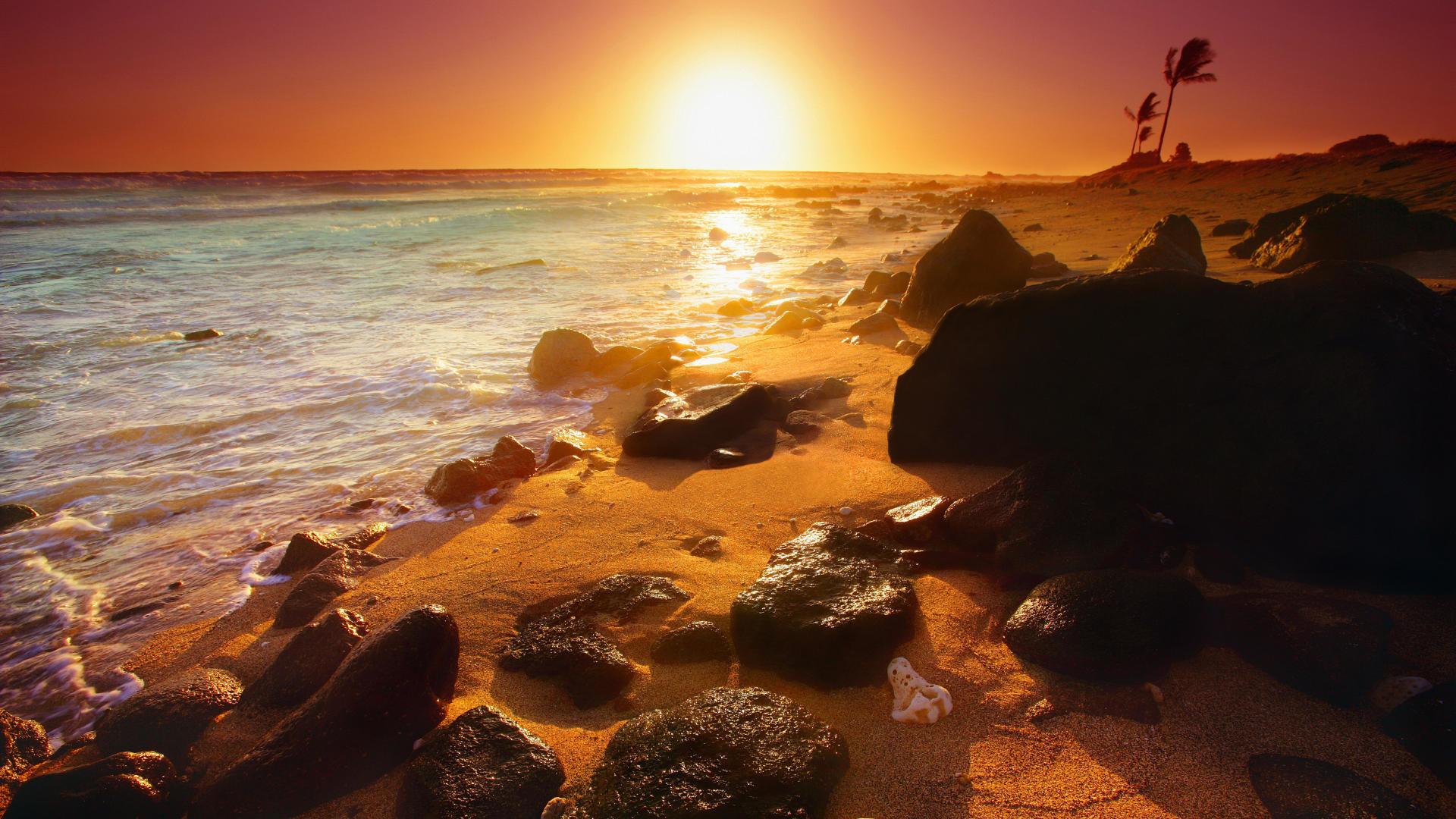 Sunset Hawaii Wallpaper