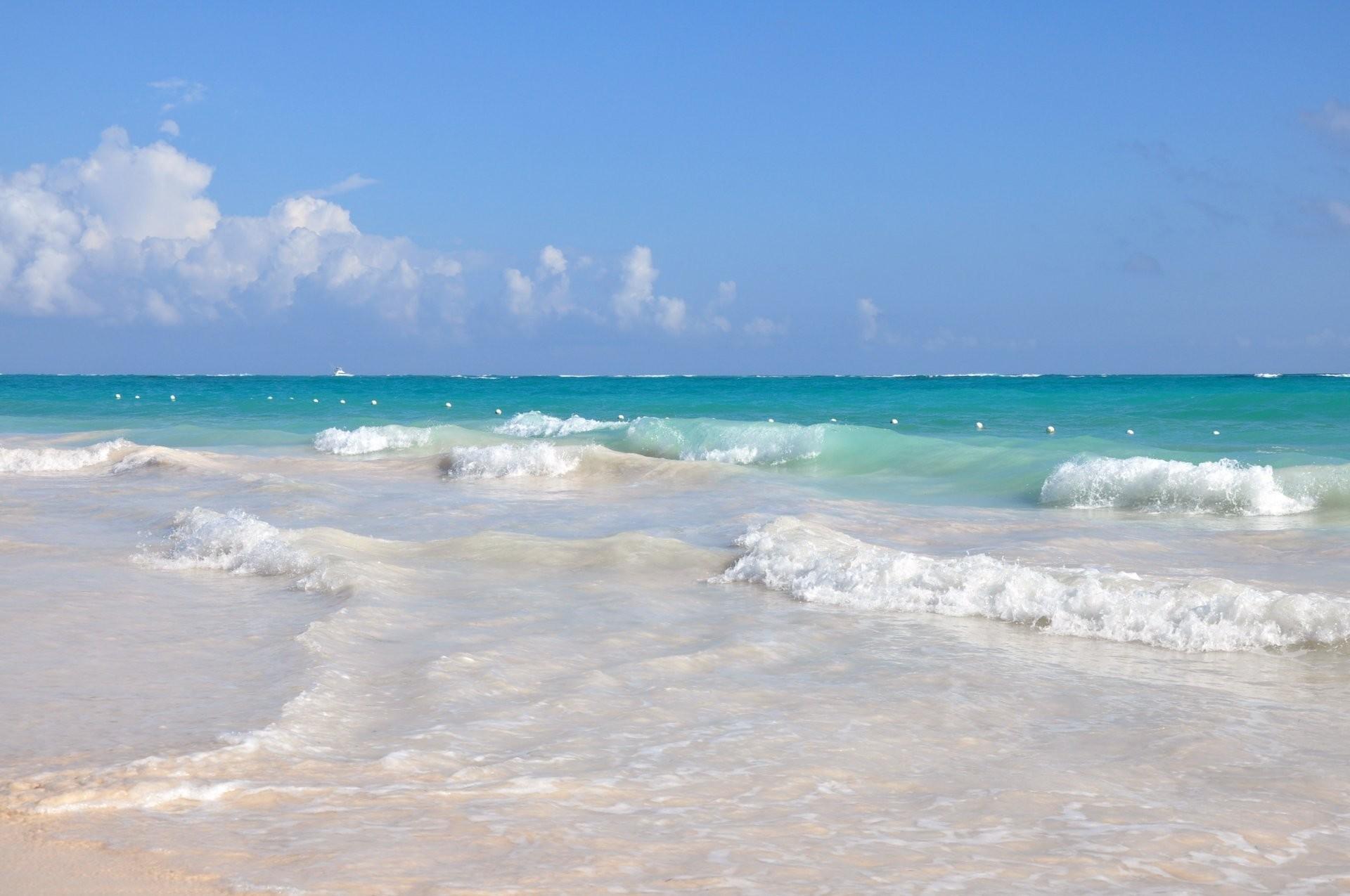 ocean resort dominican republic sea water waves sand beach sports relax