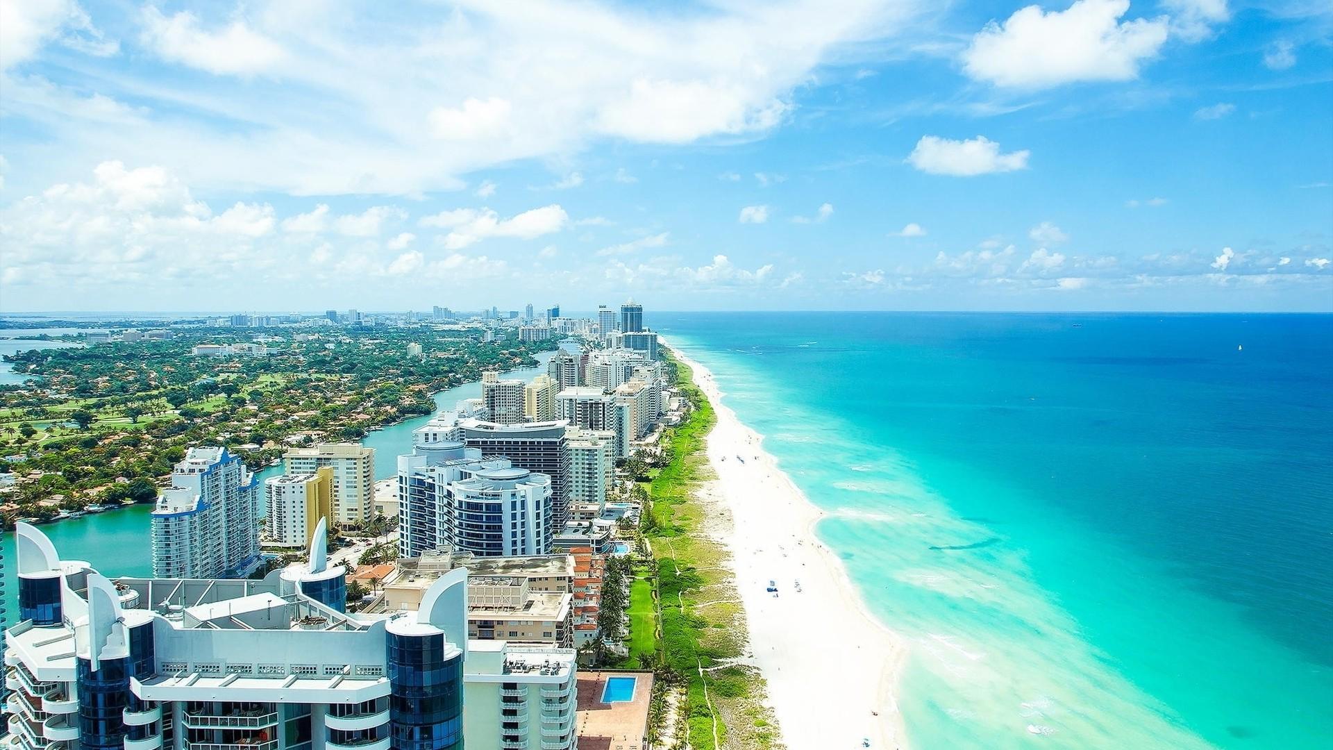 Miami beach wallpaper
