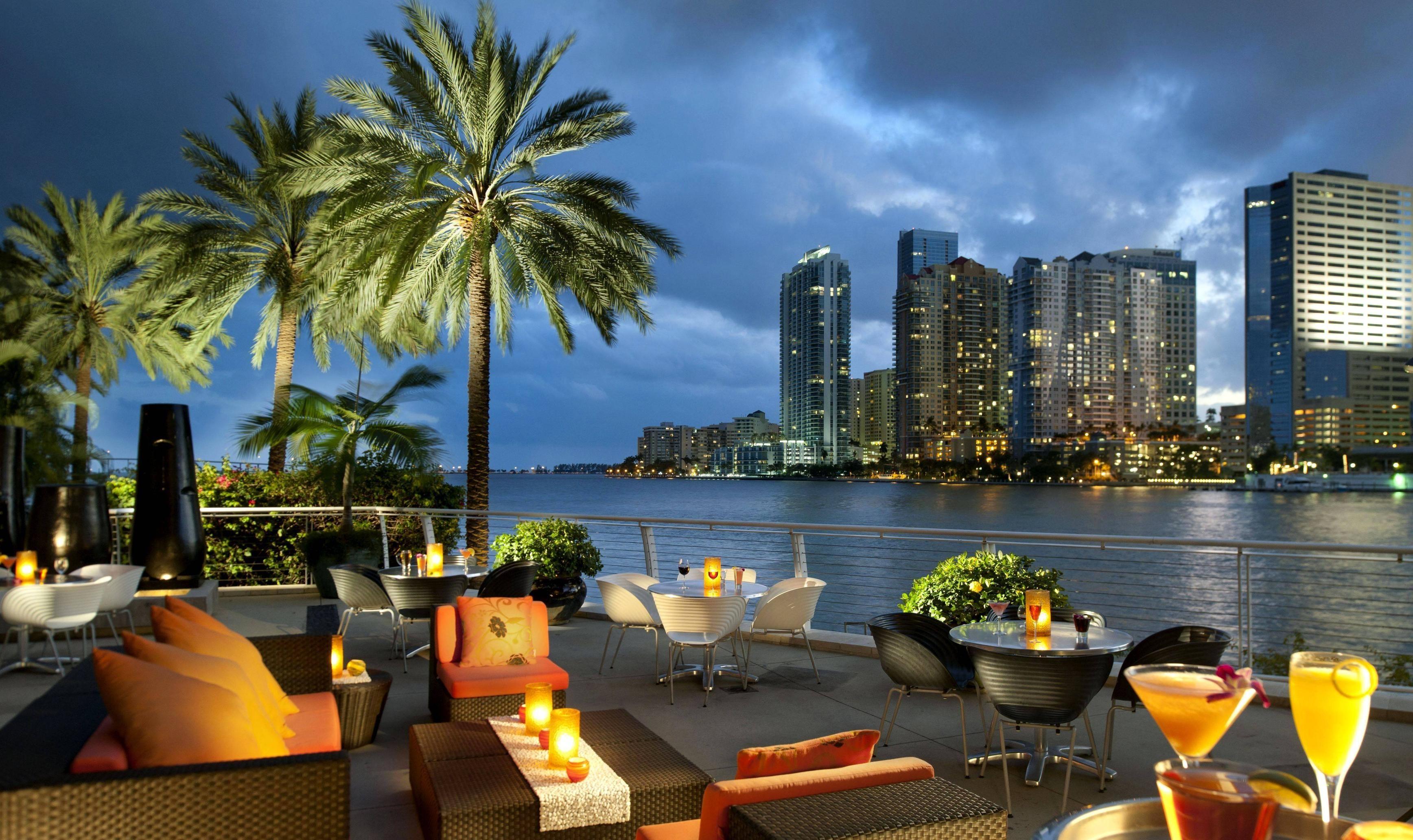 Download wallpaper Miami, Florida, USA, city free desktop .