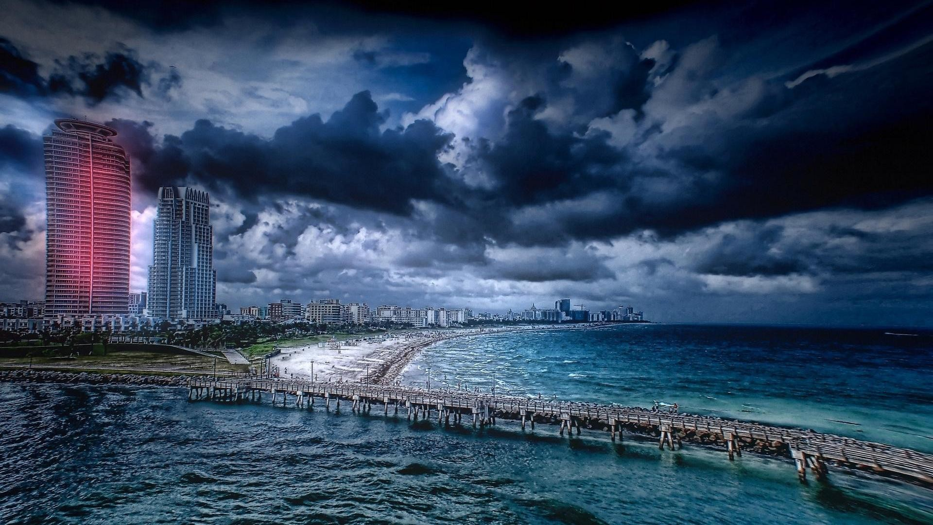 Miami Beach desktop wallpapers   Beaches wallpapers 0 HTML code. computer  desktop background best for widescreens available in .