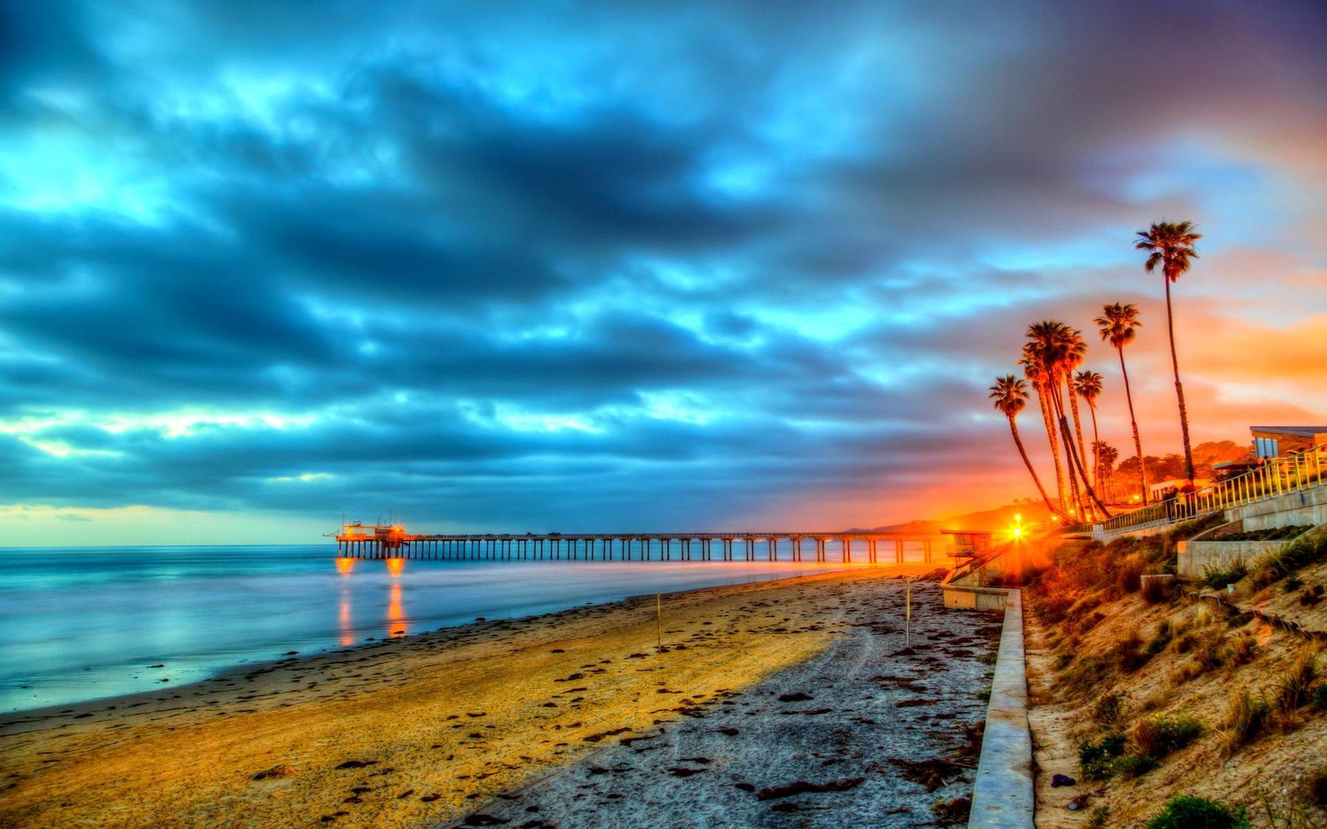 Wonderful California Beach HQ Wallpapers