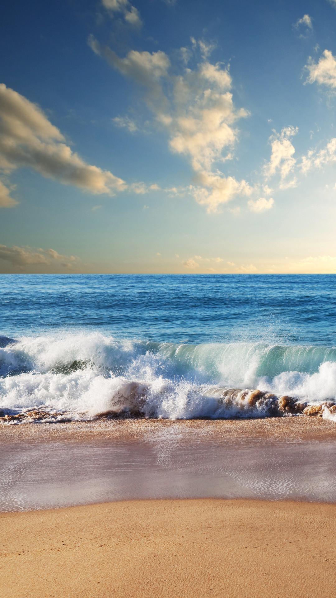 Beach waves iphone 6 plus wallpaper.jpg (1080×1920)