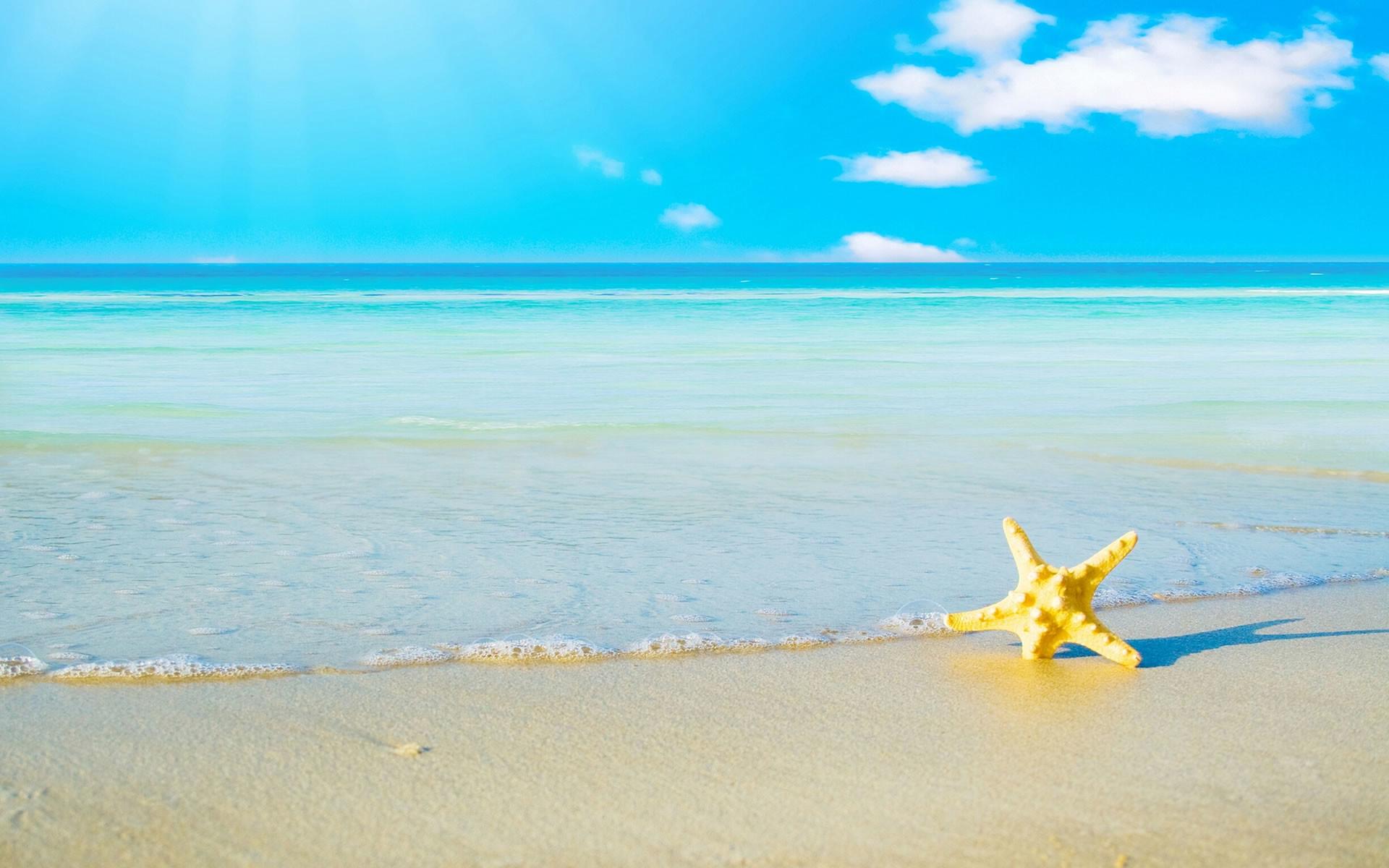 Desktop Beach summer backgrounds.