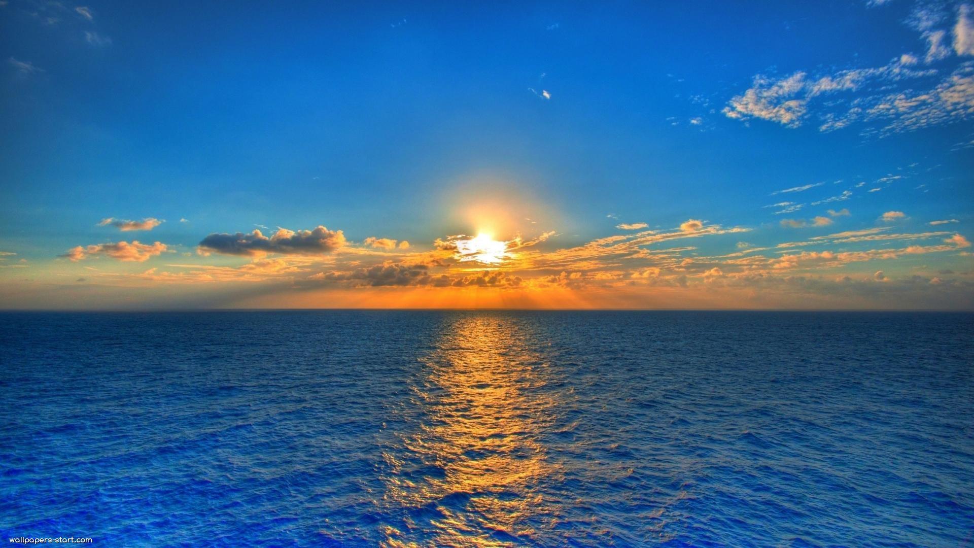 Free Sunset Summer Wallpaper For Desktop