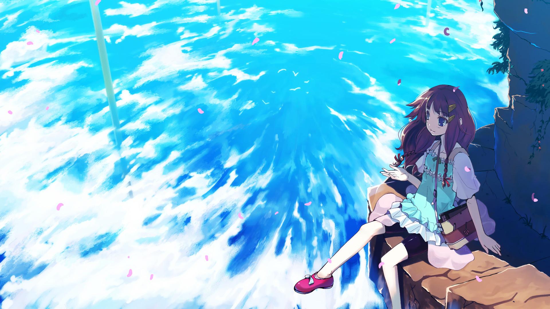 anime summer wallpaper – Tìm với Google