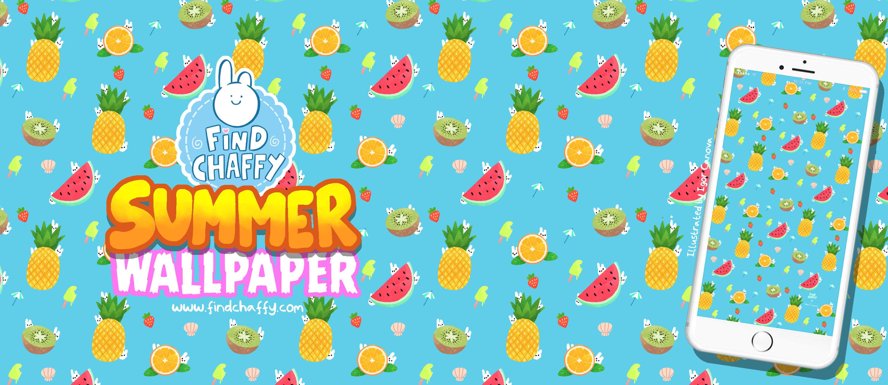 Find Chaffy – Summer wallpaper!