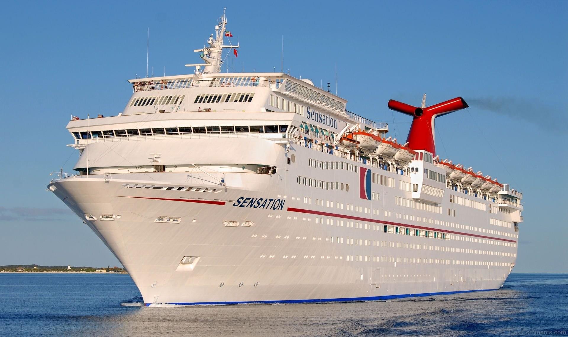 Carnival Sensation Cruise Ship Wallpaper
