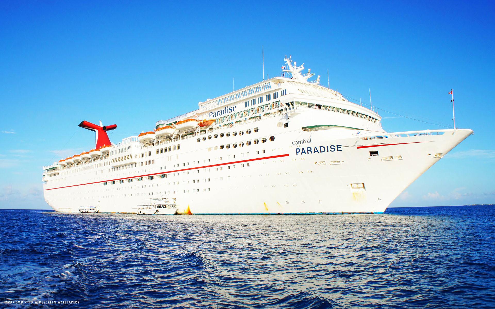 perfect carnival cruise ship paradise on board camera