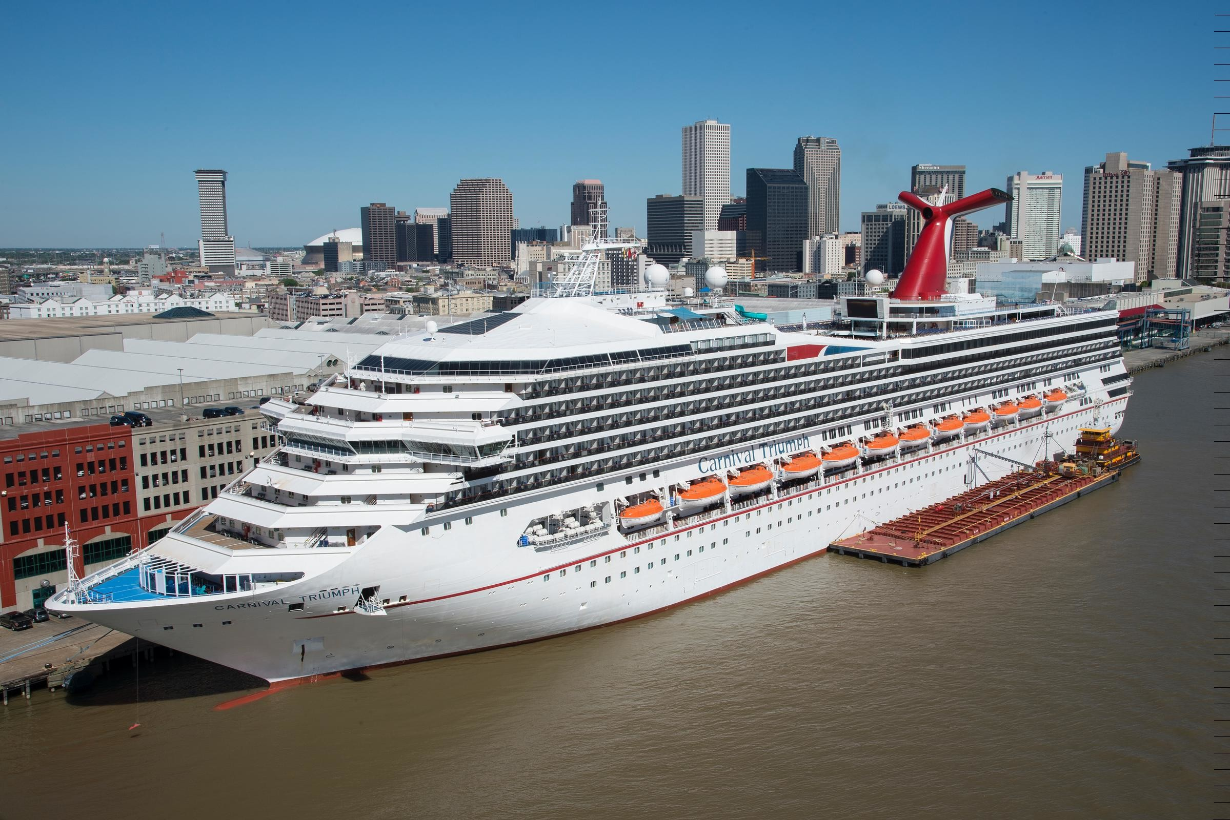 wallpapers 7 carnival cruise ship out of new orleans wallpaper
