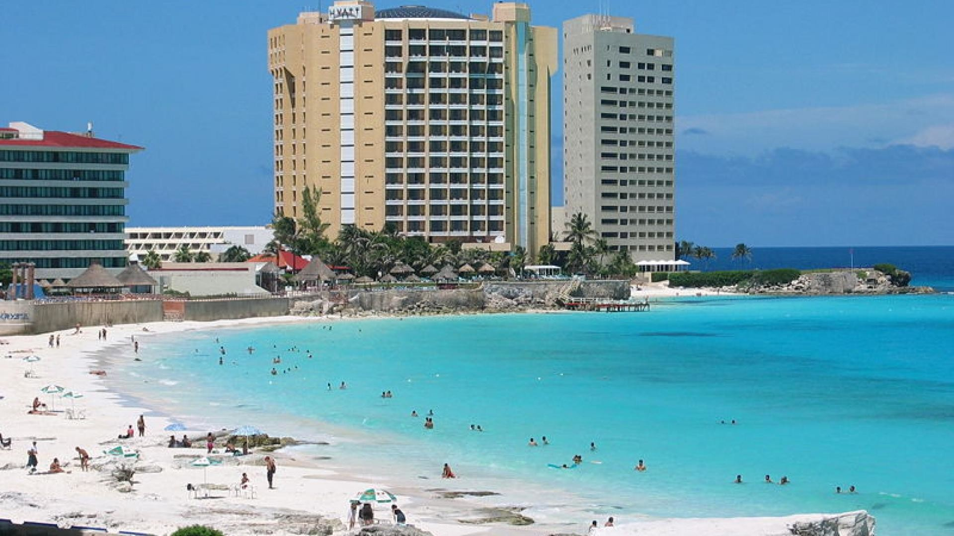 Cancun Mexico Beach HD Wallpaper