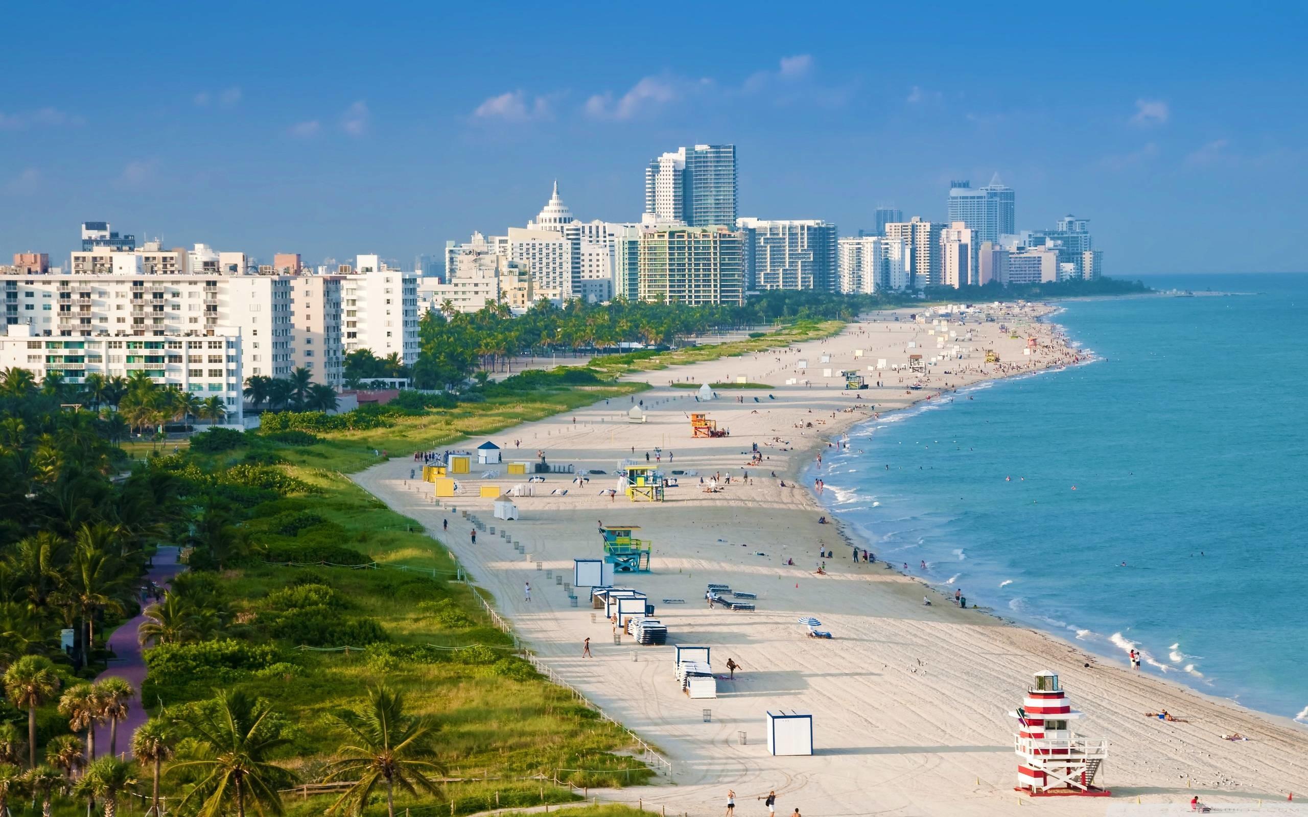 High Resolution Miami Beach Wallpaper